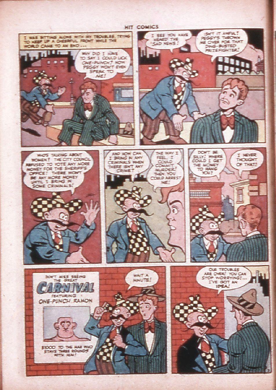 Read online Hit Comics comic -  Issue #33 - 49