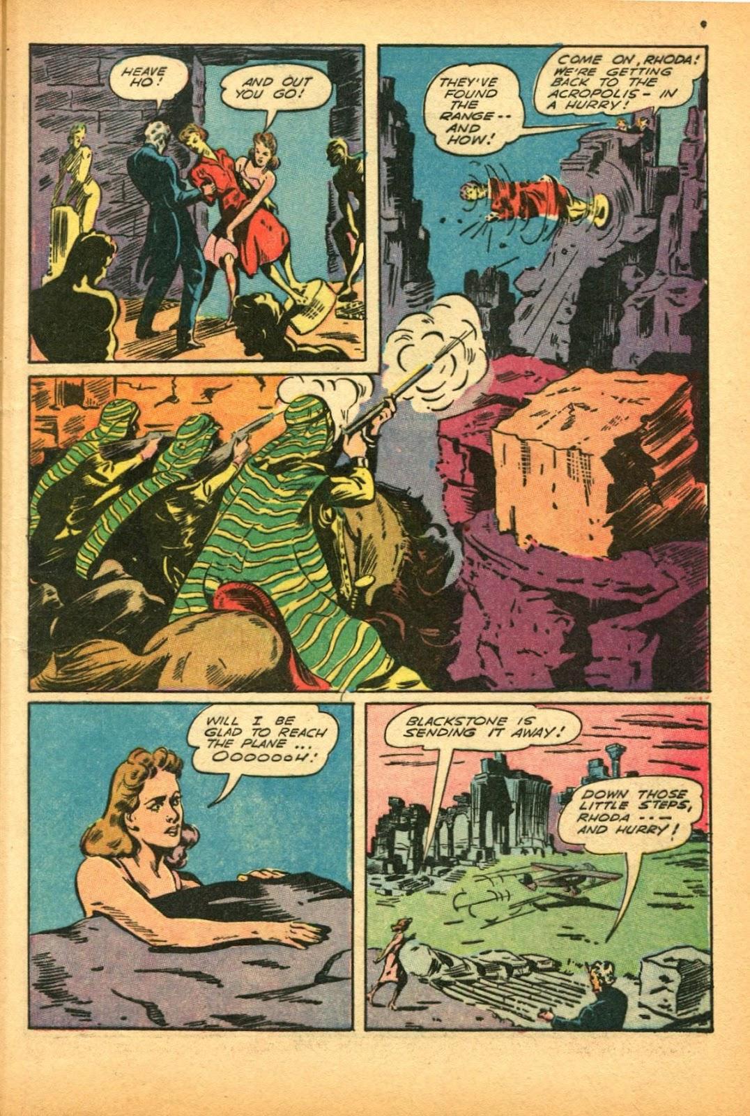 Read online Super-Magician Comics comic -  Issue #12 - 9