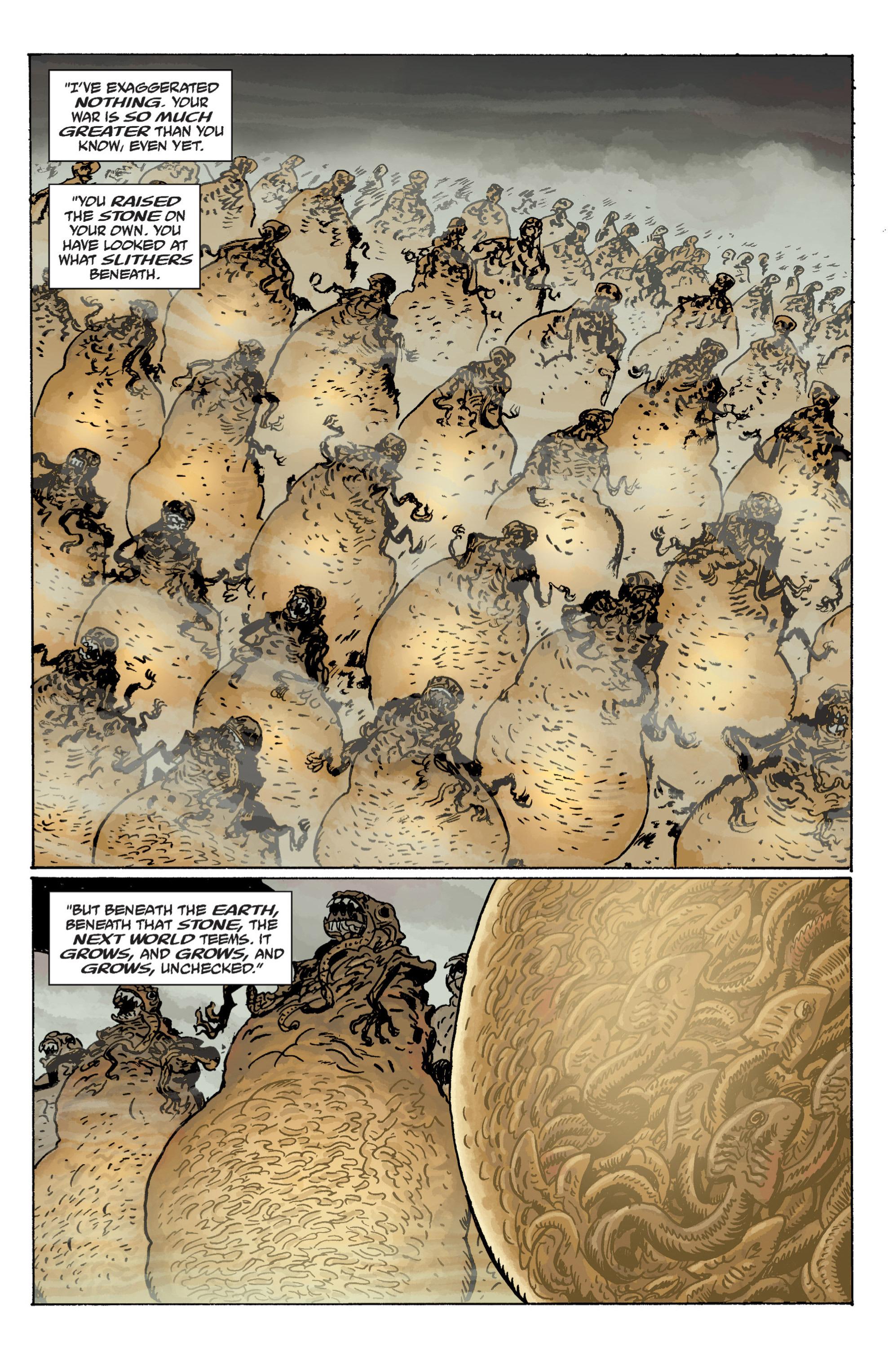 Read online B.P.R.D. (2003) comic -  Issue # TPB 11 - 51