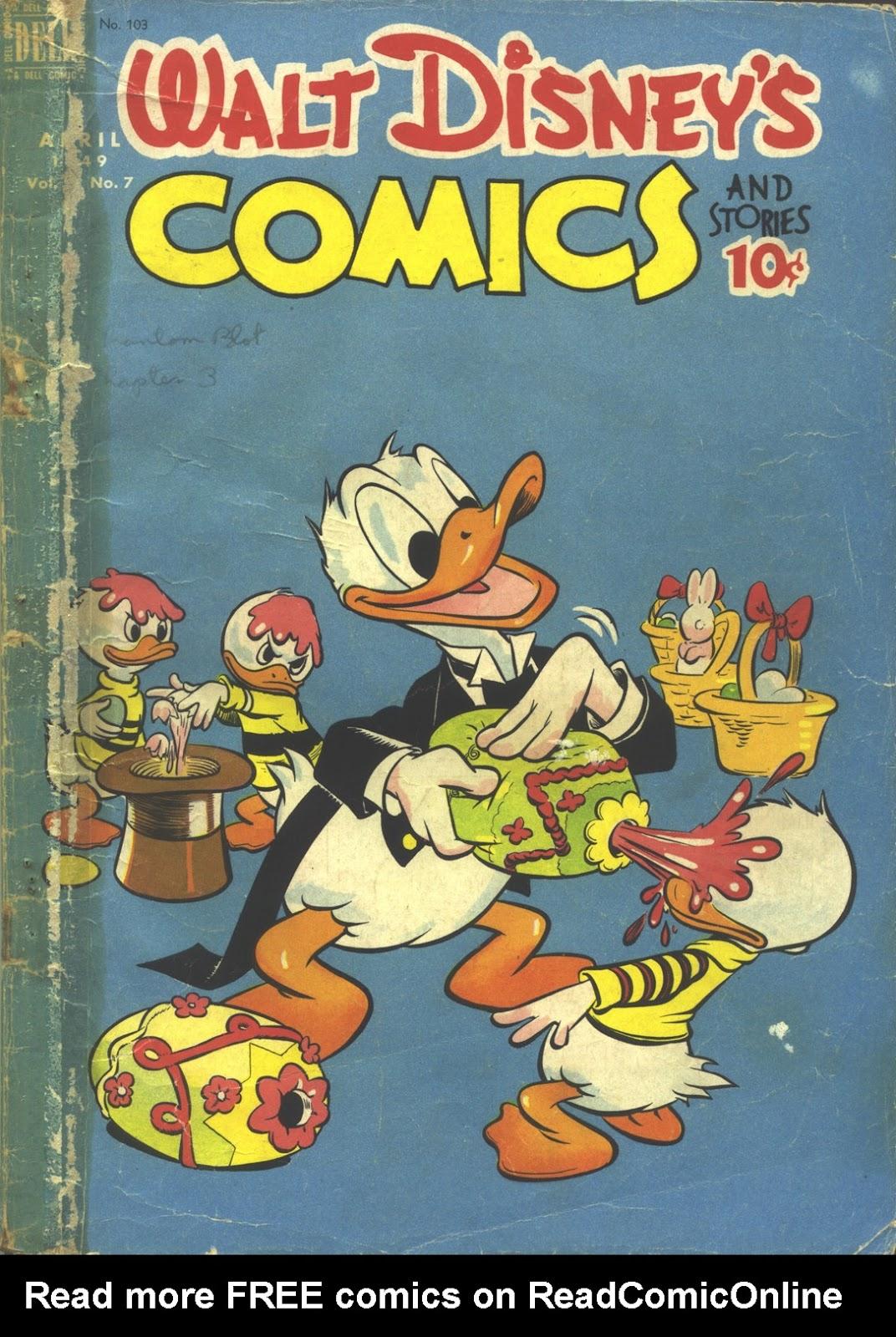 Walt Disneys Comics and Stories 103 Page 1