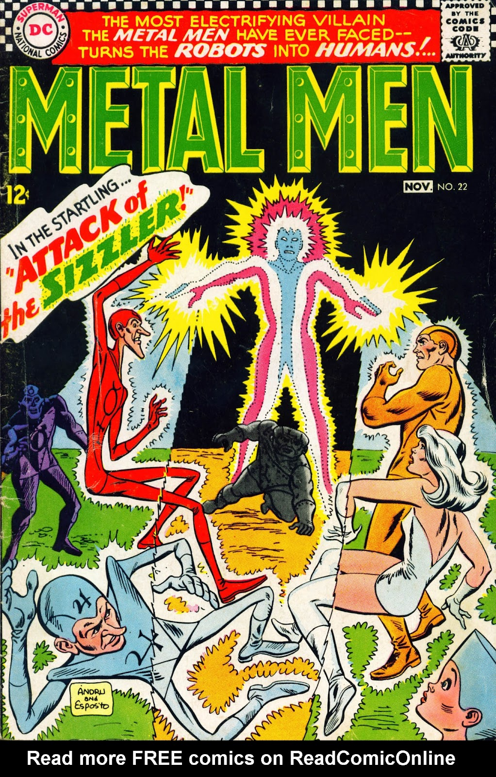 Metal Men (1963) issue 22 - Page 1
