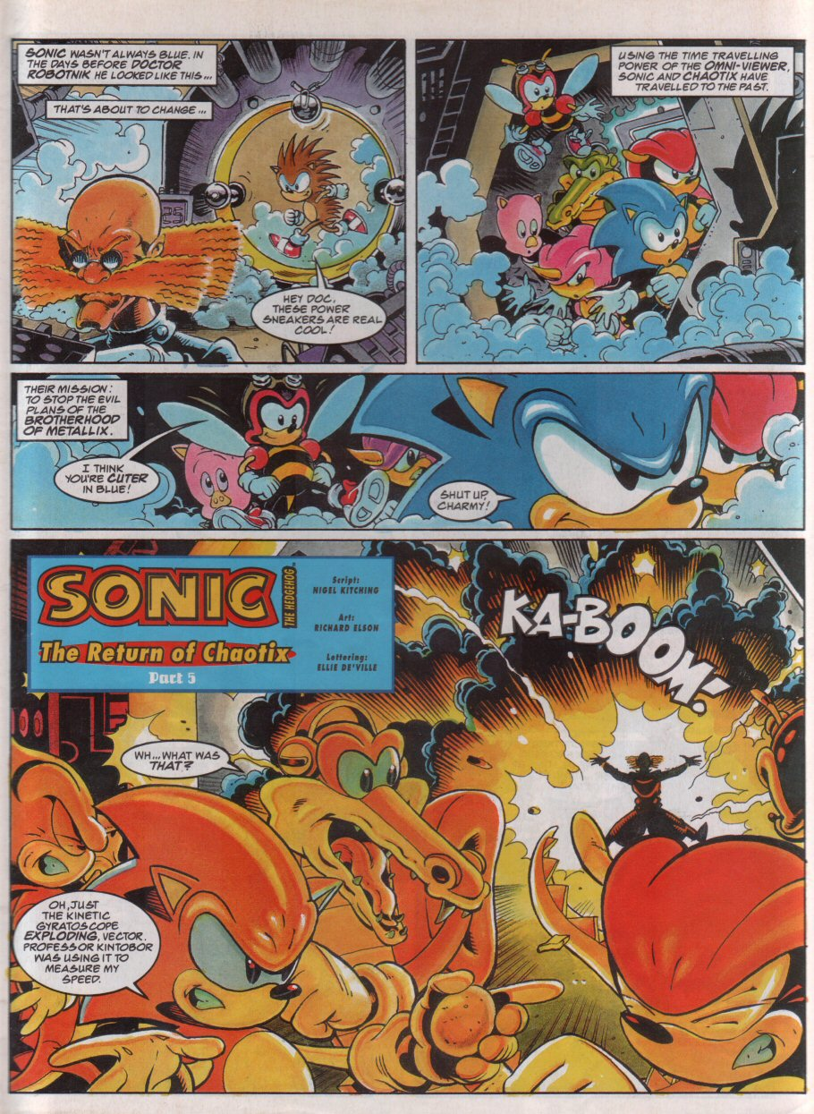 Read online Sonic the Comic comic -  Issue #71 - 3