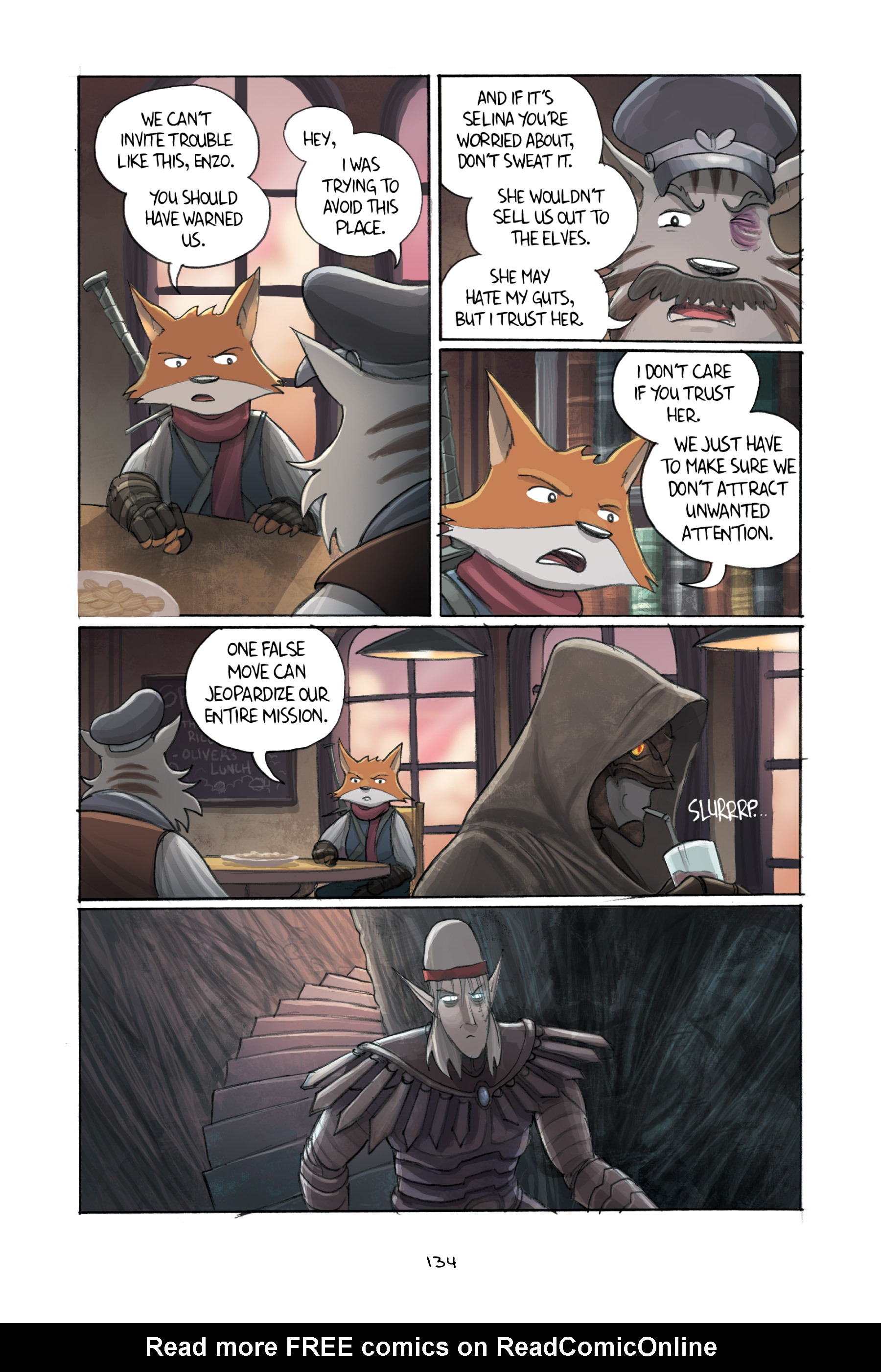 Read online Amulet comic -  Issue #3 - 131