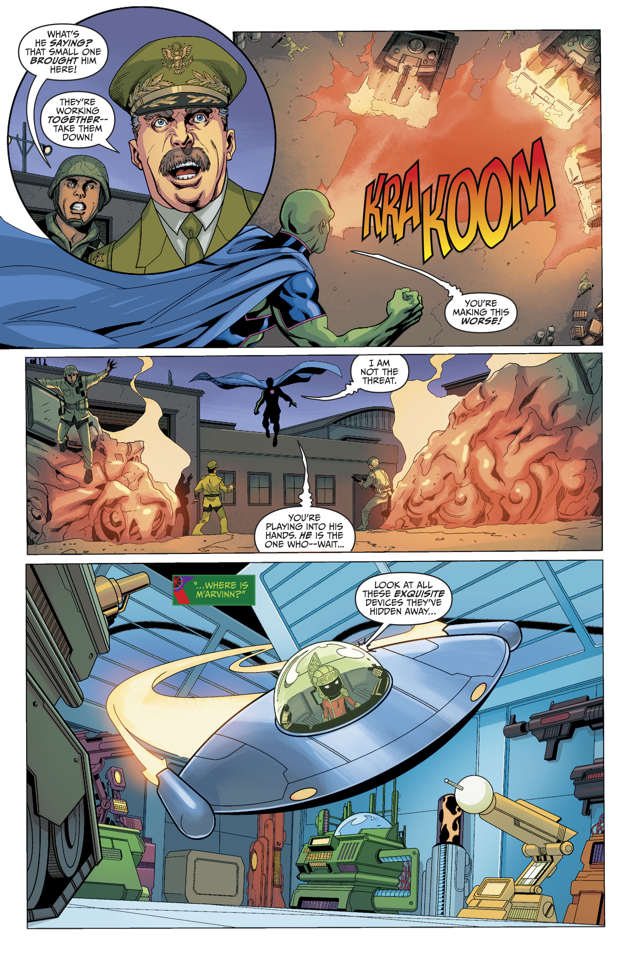 Read online Martian Manhunter/Marvin the Martian Special comic -  Issue # Full - 21