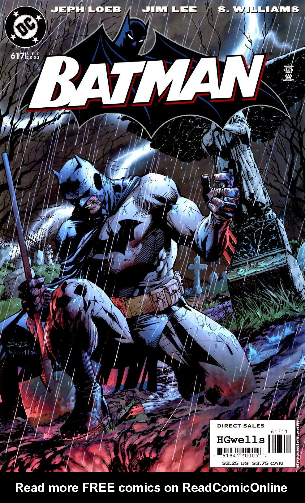 Read online Batman: Hush comic -  Issue #10 - 1