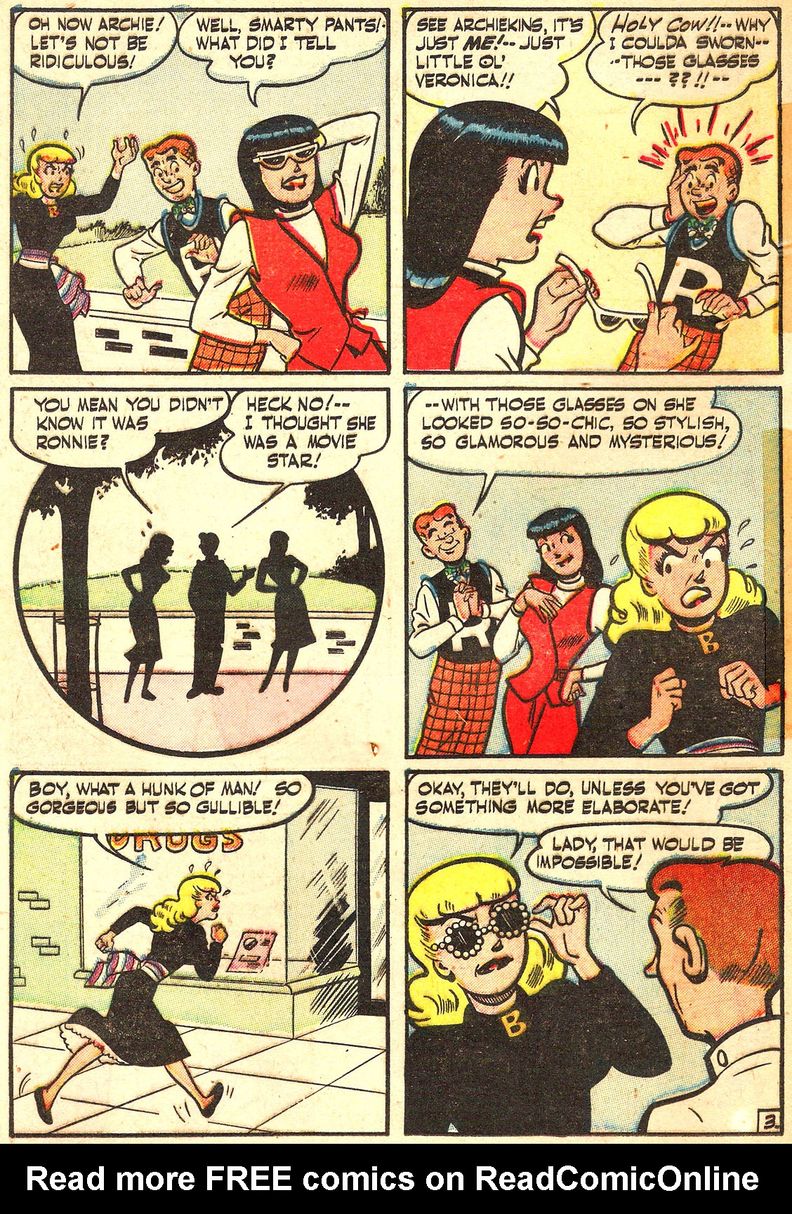Read online Archie's Girls Betty and Veronica comic -  Issue #Archie's Girls Betty and Veronica Annual 1 - 70