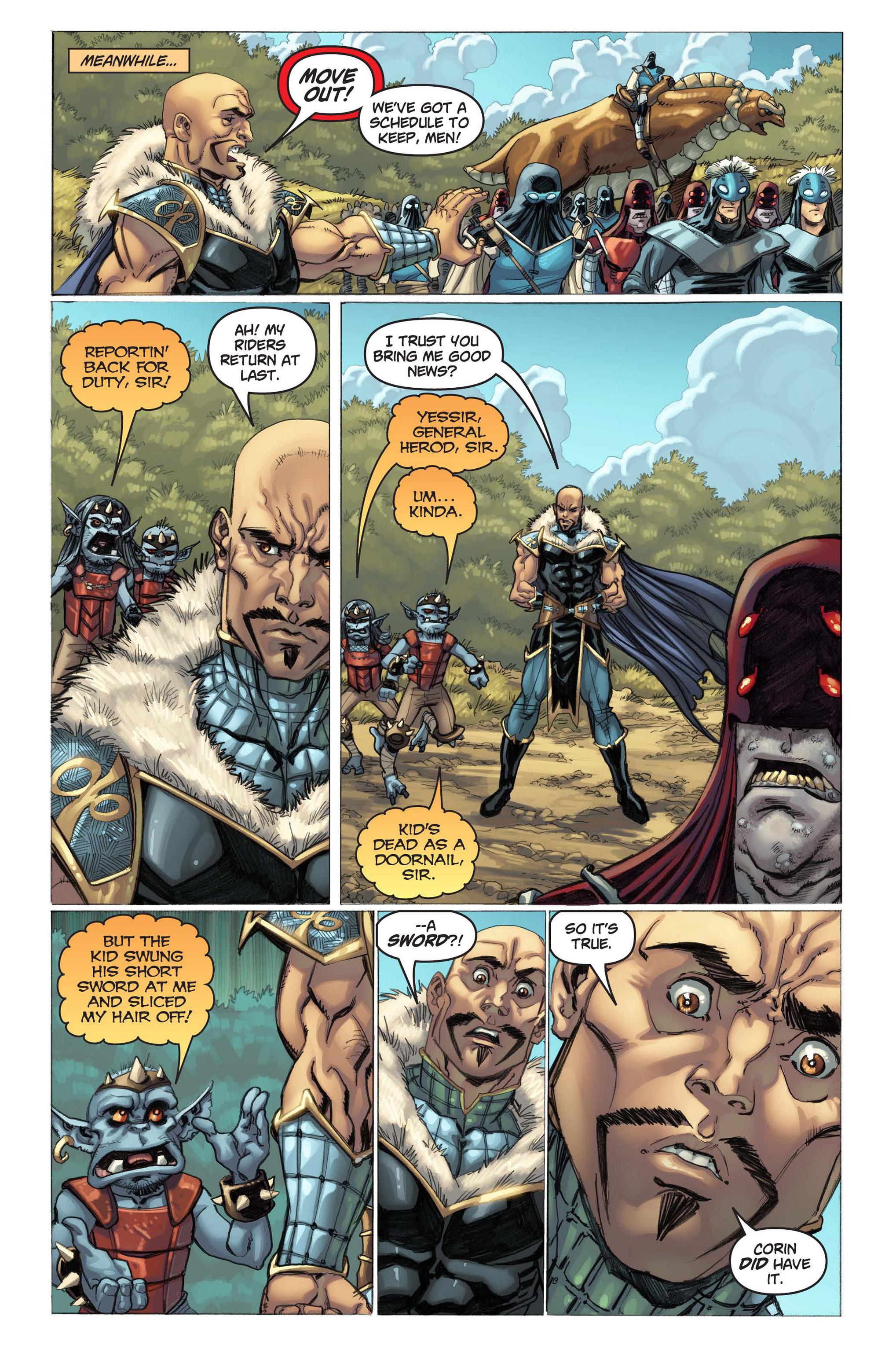 Read online Skyward comic -  Issue #3 - 7