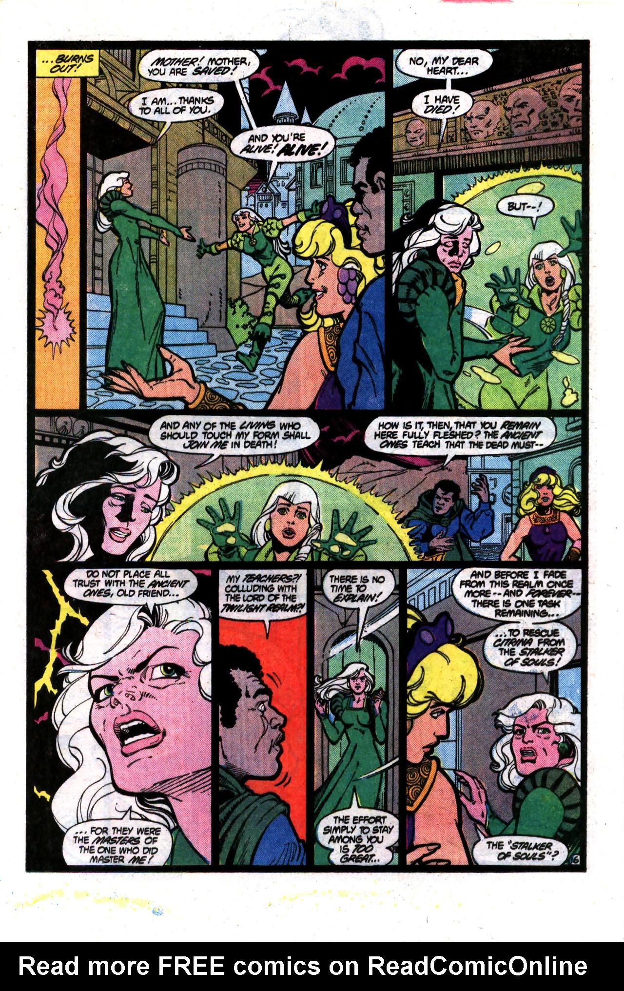 Read online Amethyst (1985) comic -  Issue #8 - 16