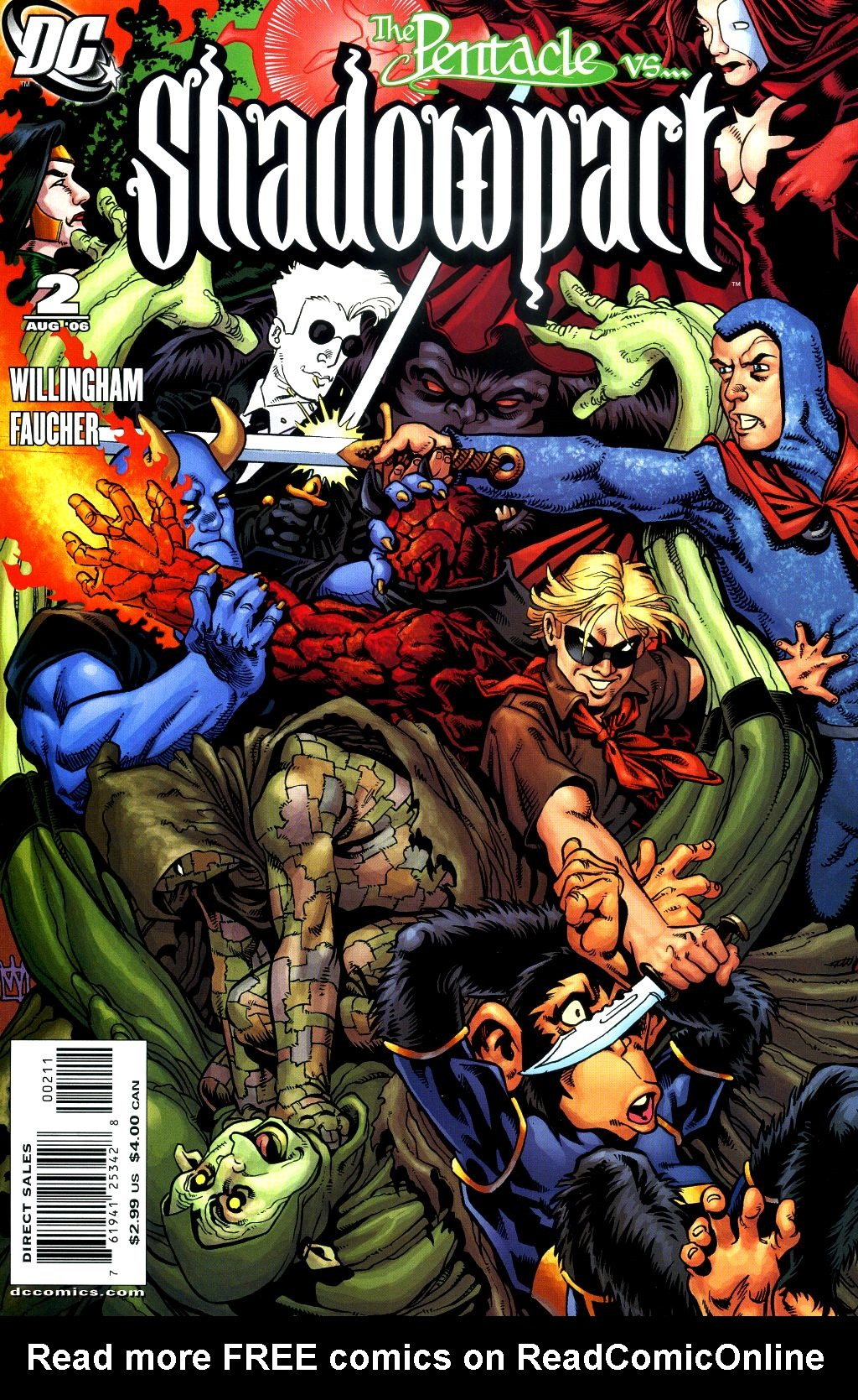 Read online Shadowpact comic -  Issue #2 - 1
