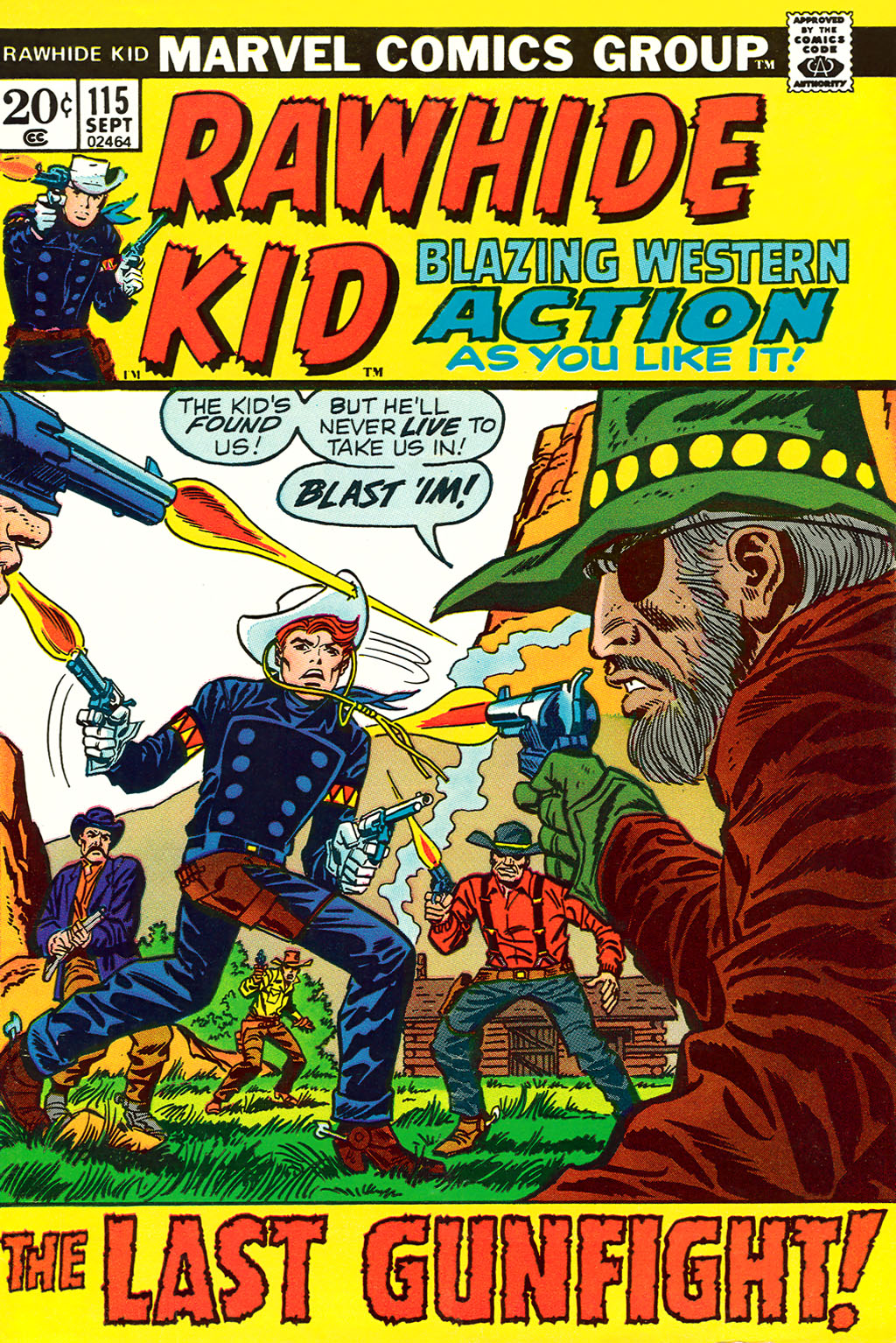The Rawhide Kid (1955) issue 115 - Page 1
