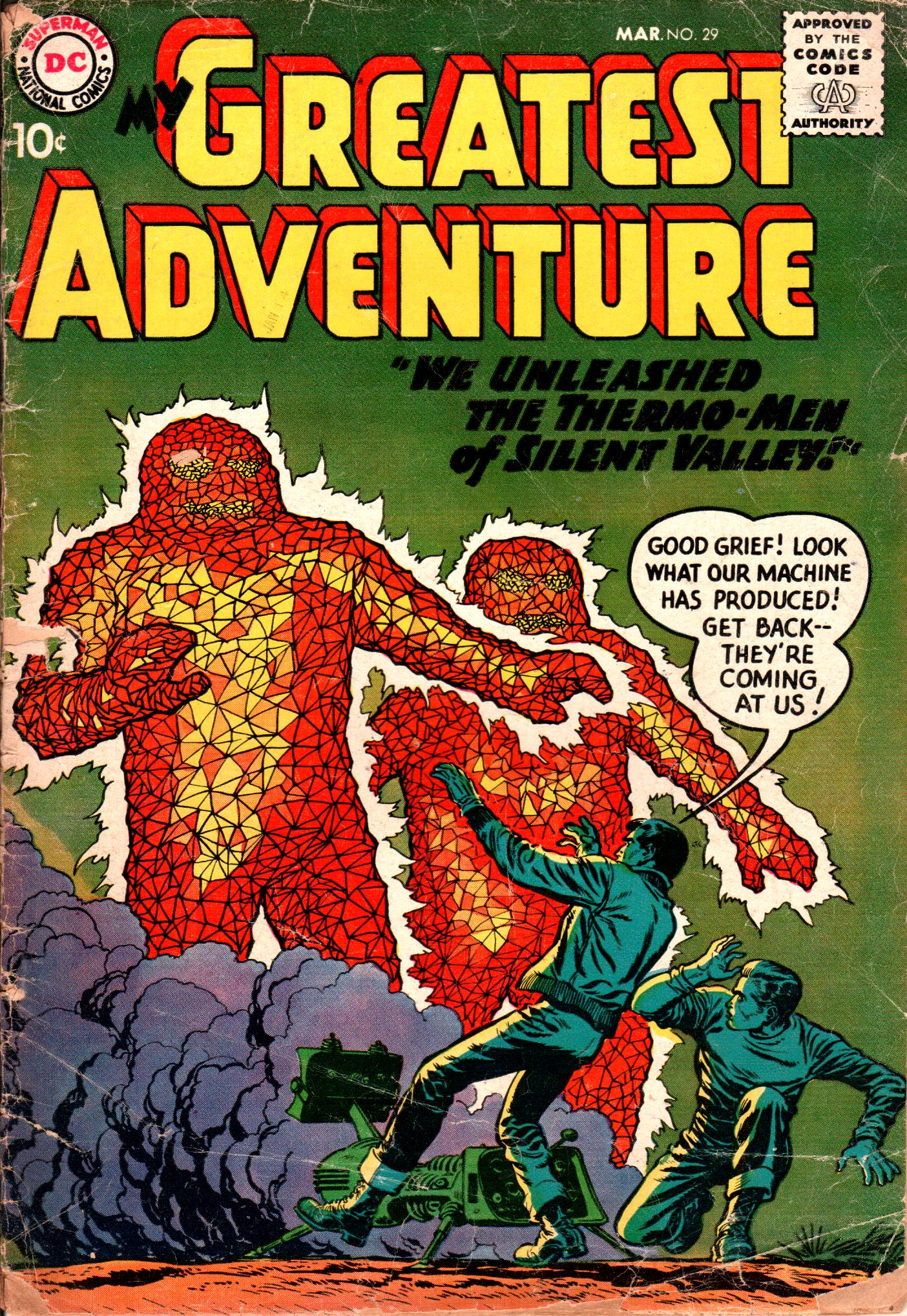 My Greatest Adventure (1955) 29 Page 1
