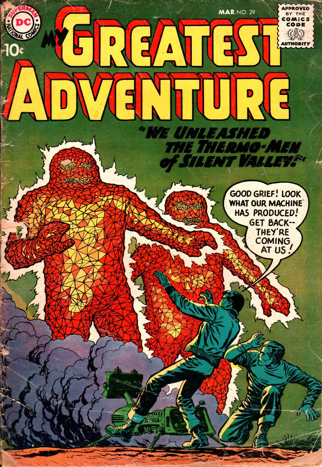 My Greatest Adventure (1955) issue 29 - Page 1