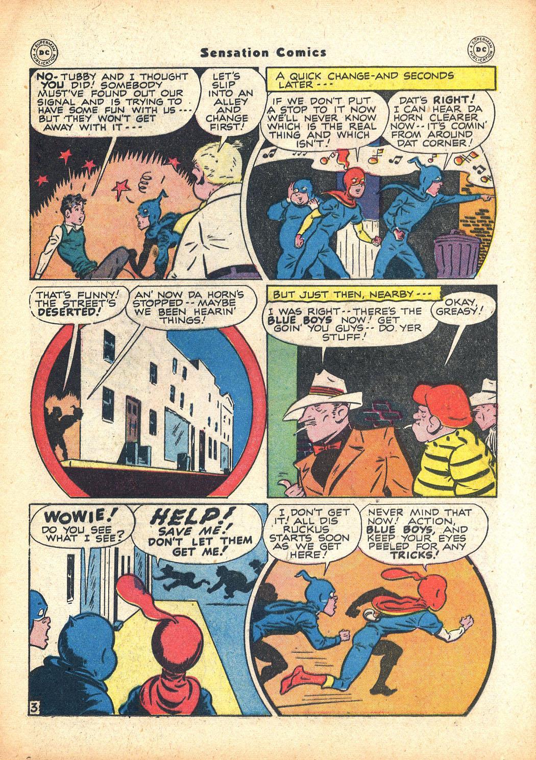 Read online Sensation (Mystery) Comics comic -  Issue #63 - 19