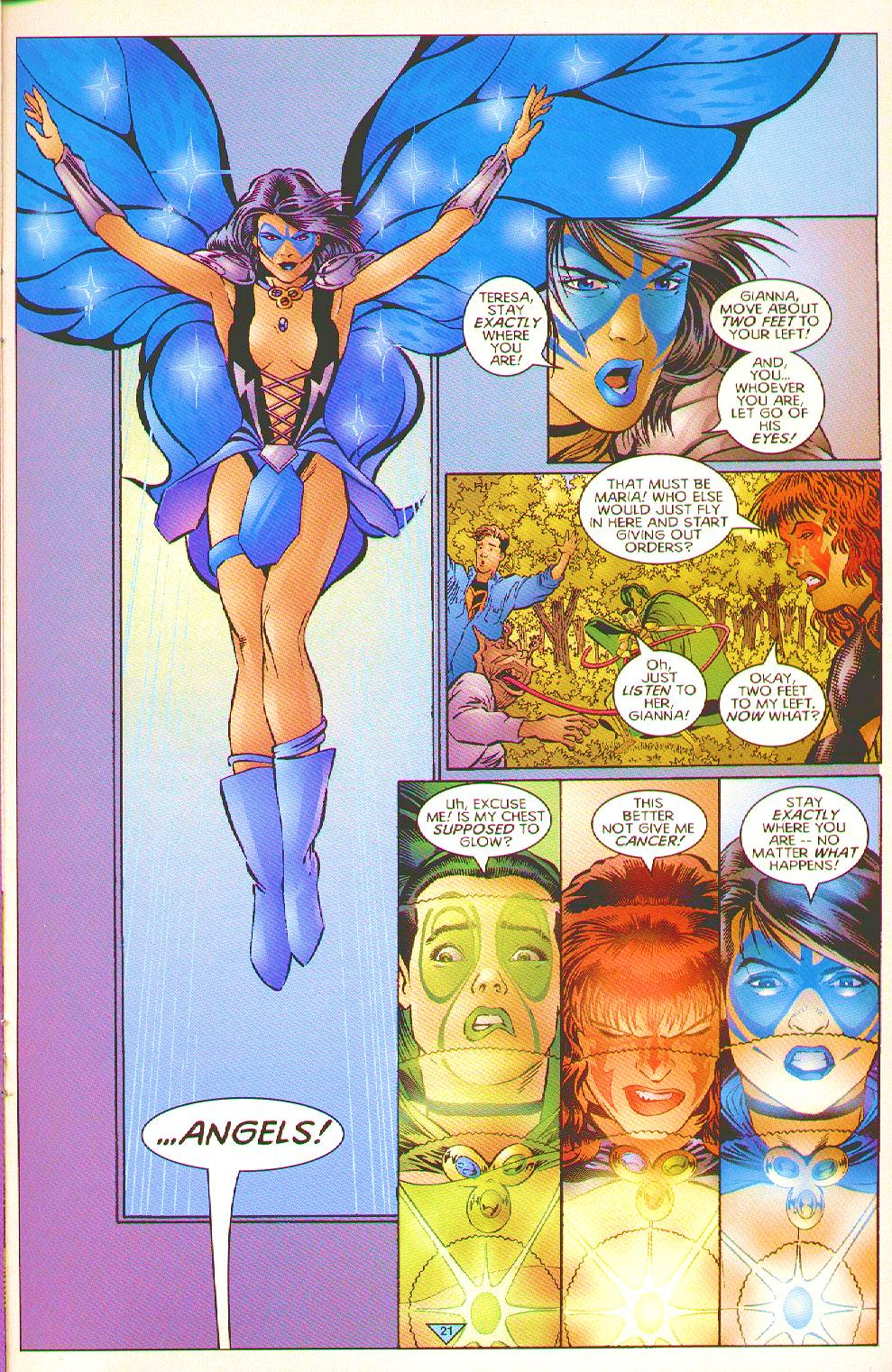 Read online Trinity Angels comic -  Issue #2 - 17