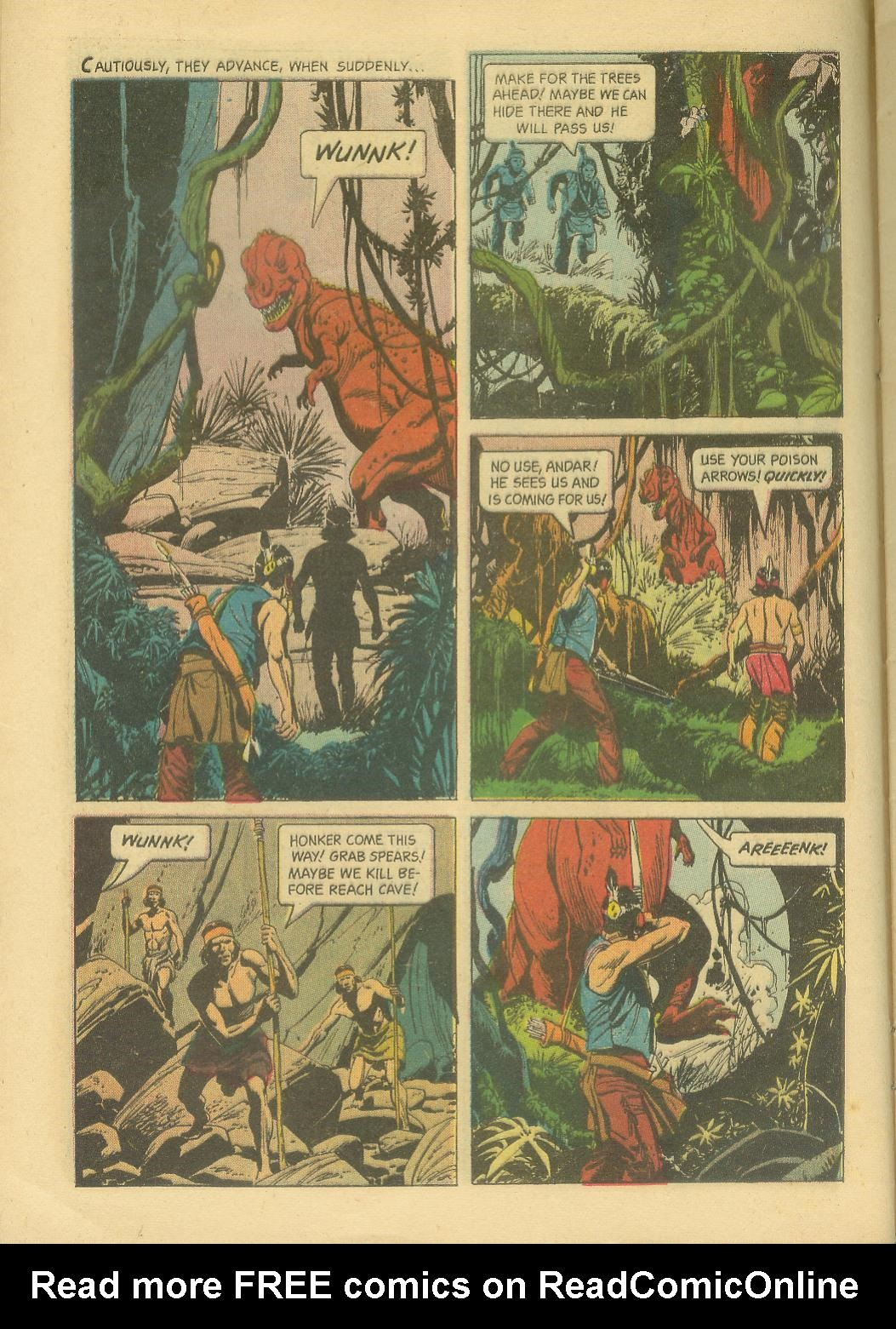 Read online Turok, Son of Stone comic -  Issue #30 - 8