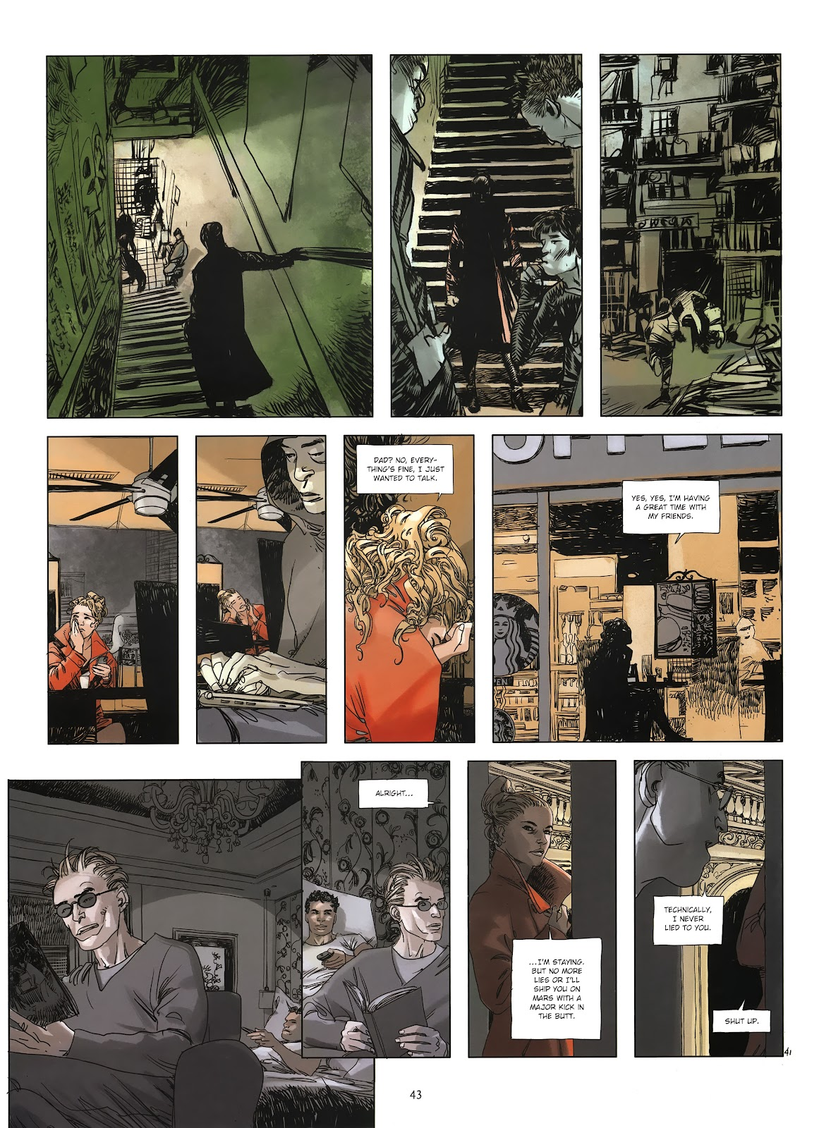 Read online Cutting Edge (2013) comic -  Issue #3 - 40