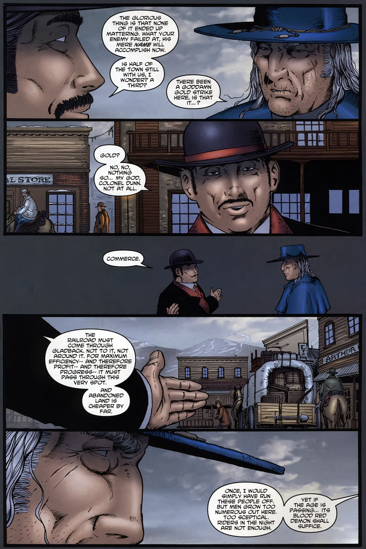 Read online Garth Ennis' Streets of Glory comic -  Issue #6 - 8