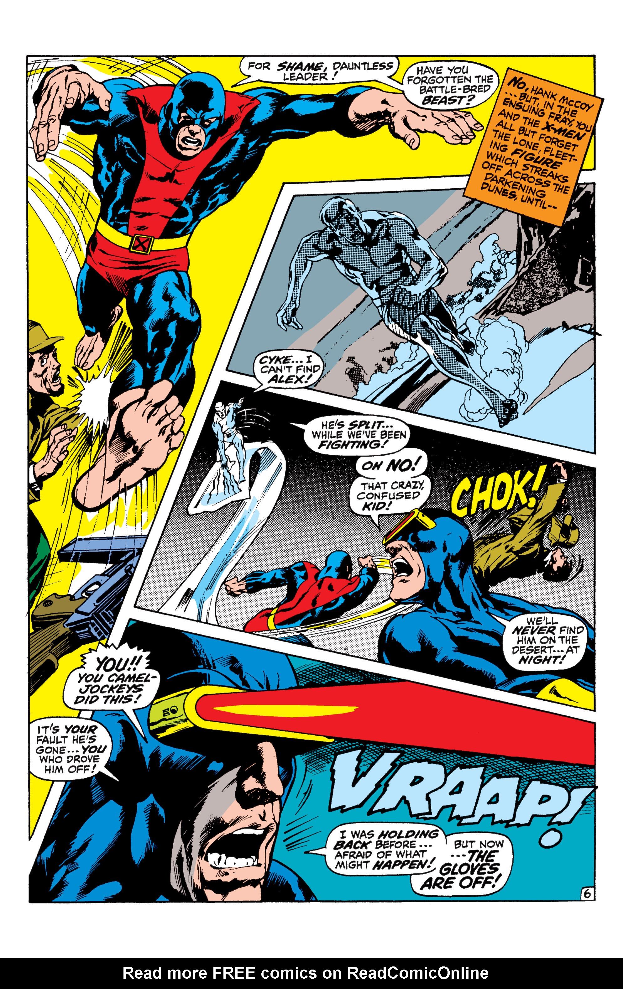 Uncanny X-Men (1963) 57 Page 6