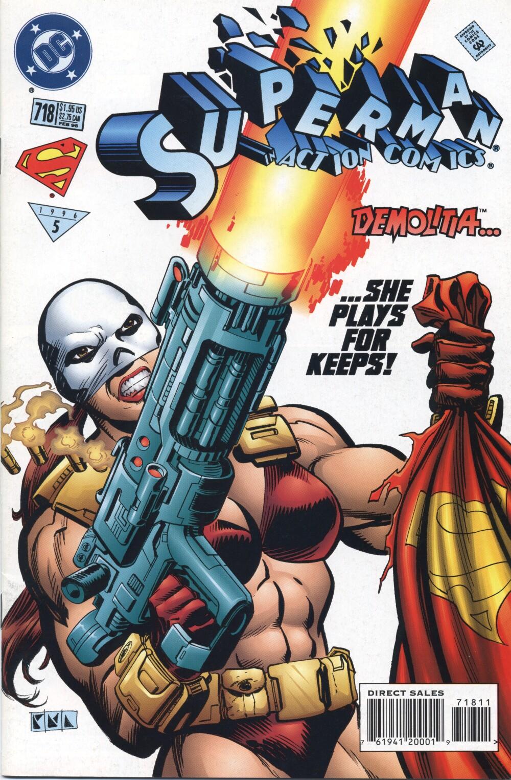 Action Comics (1938) 718 Page 1