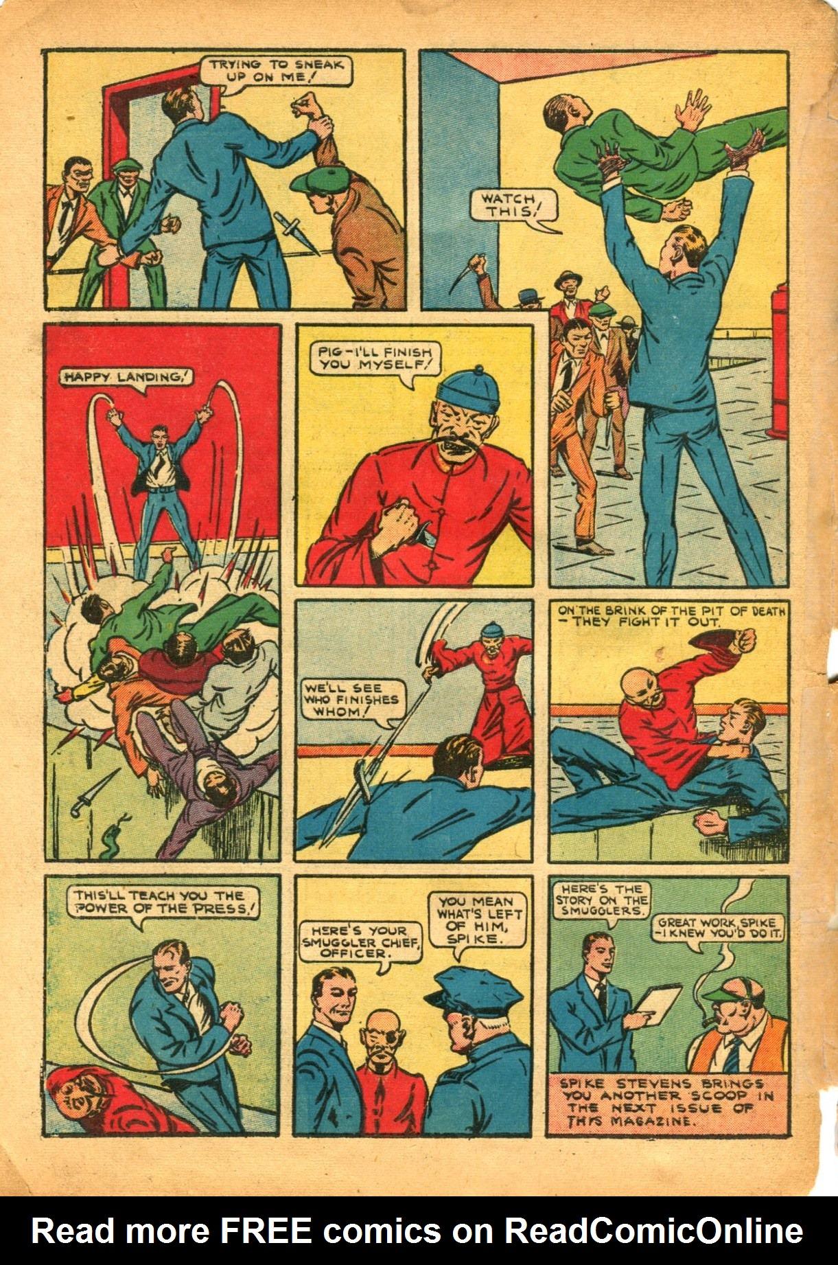 Read online Shadow Comics comic -  Issue #12 - 64