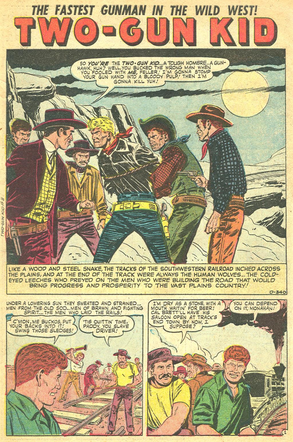 Read online Two-Gun Kid comic -  Issue #11 - 3