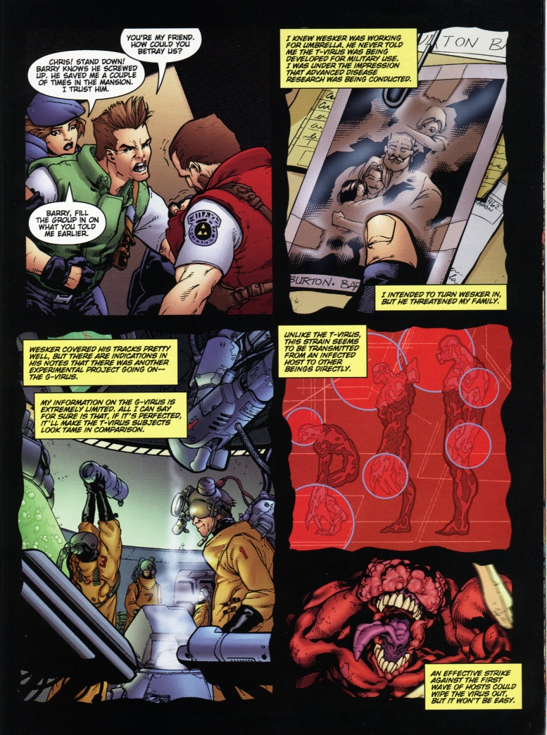 Resident Evil (1998) Issue #1 #1 - English 32