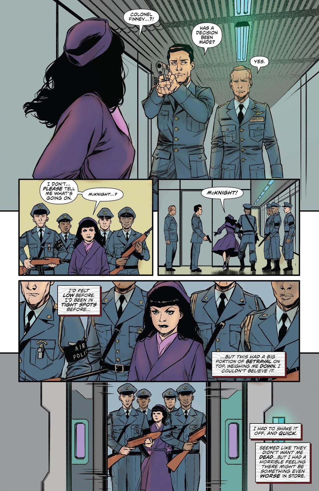 Read online Bettie Page: Unbound comic -  Issue #6 - 24