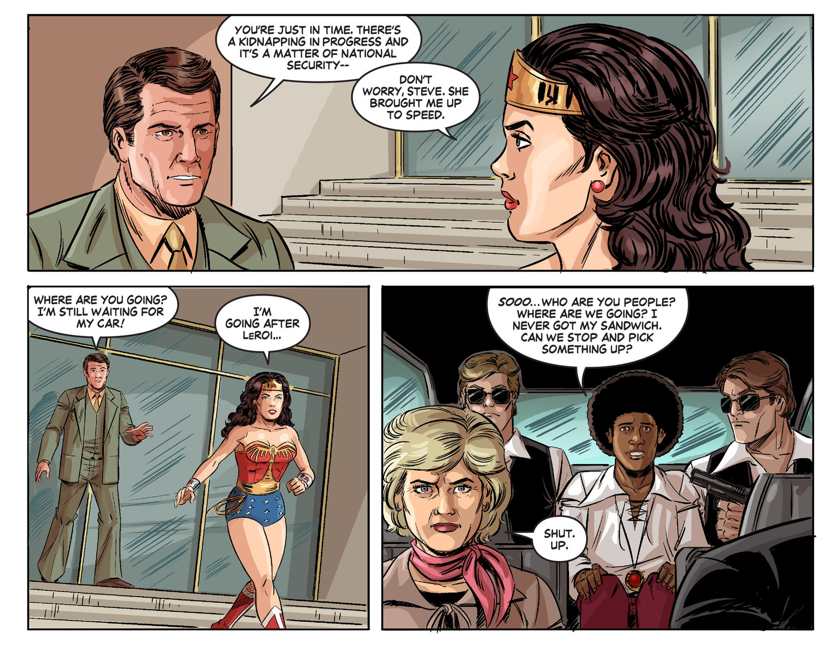 Read online Wonder Woman '77 [I] comic -  Issue #24 - 4