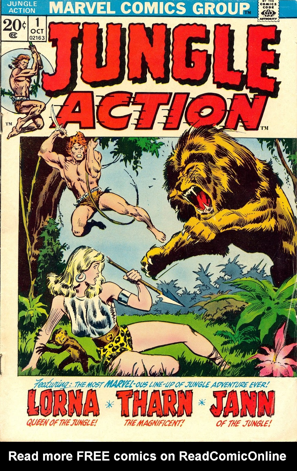 Jungle Action (1972) issue 1 - Page 1