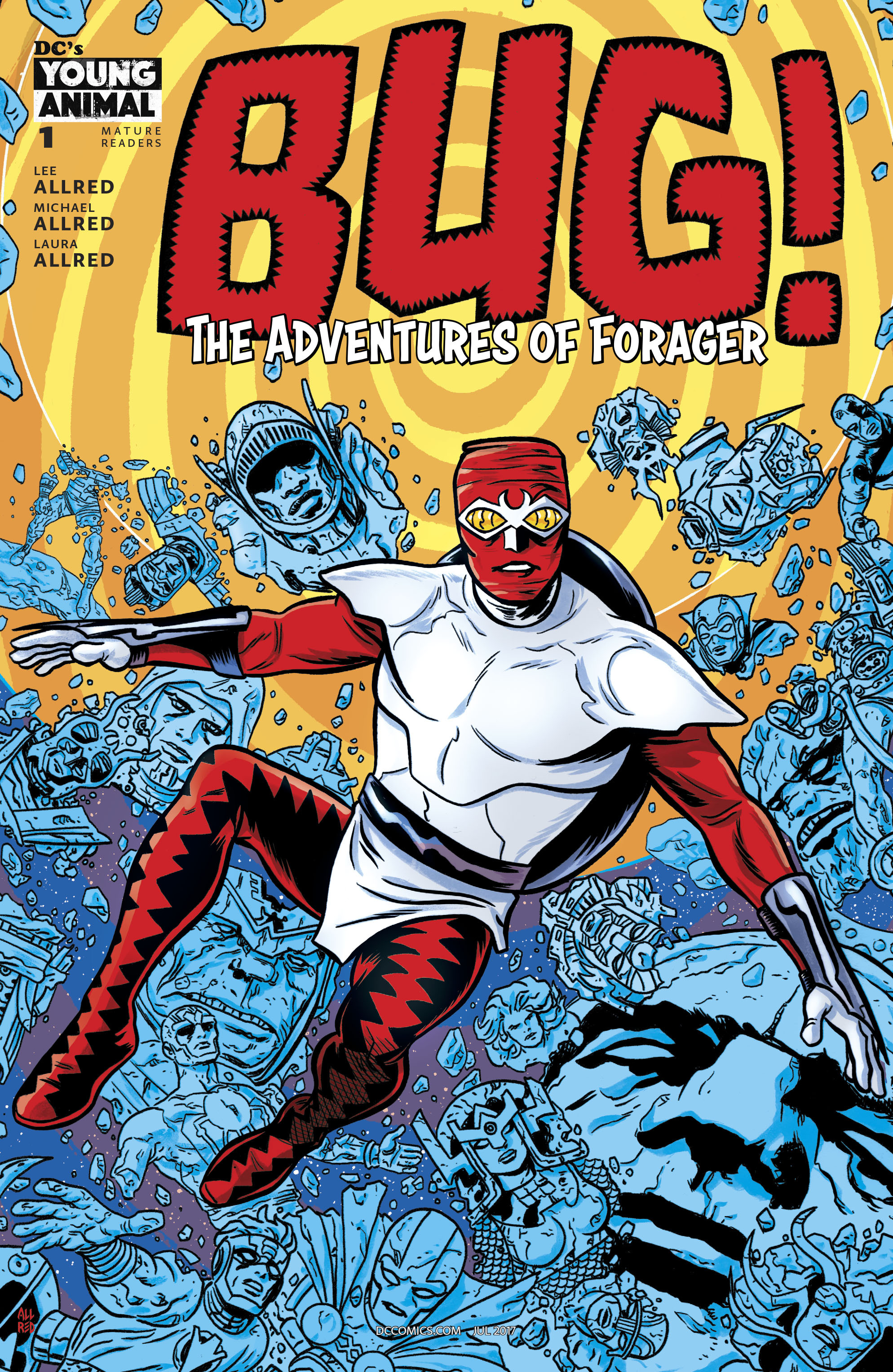 Read online Bug! The Adventures of Forager comic -  Issue #1 - 1