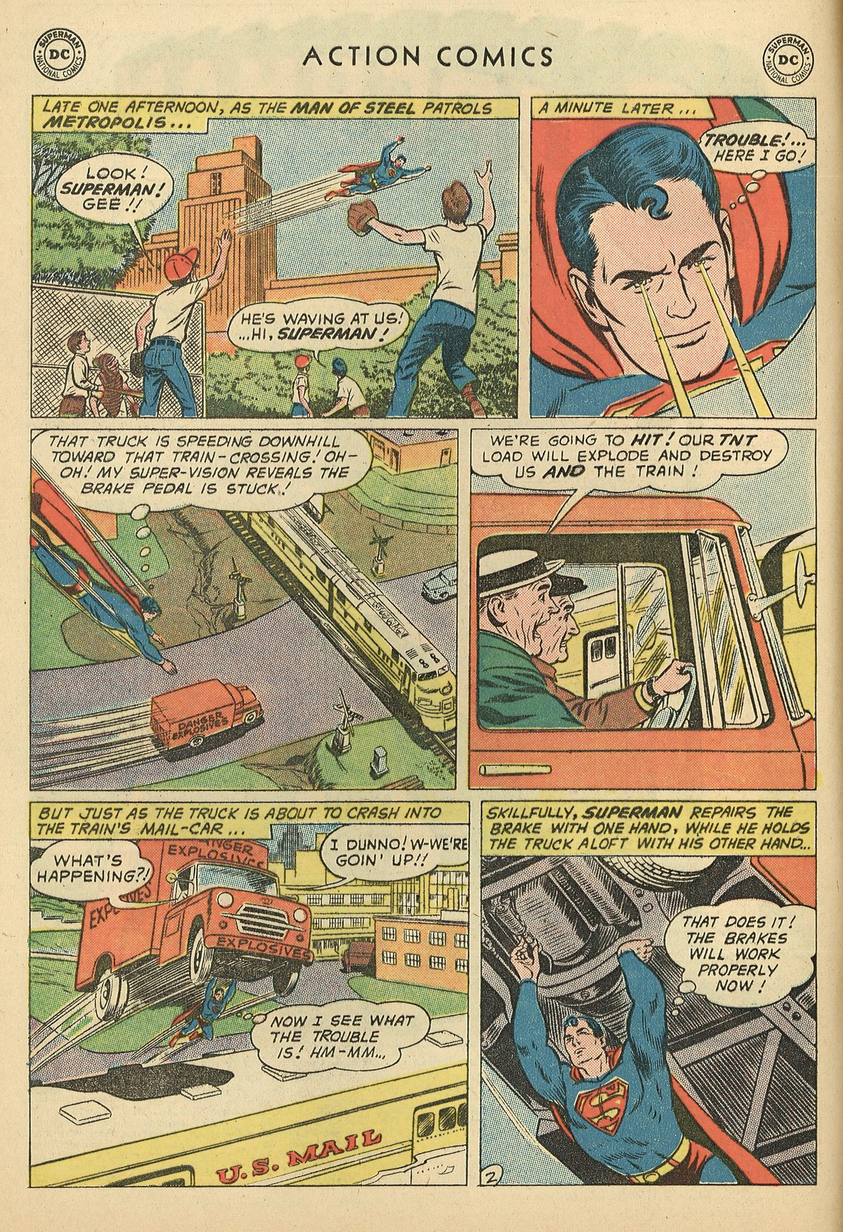 Read online Action Comics (1938) comic -  Issue #269 - 4