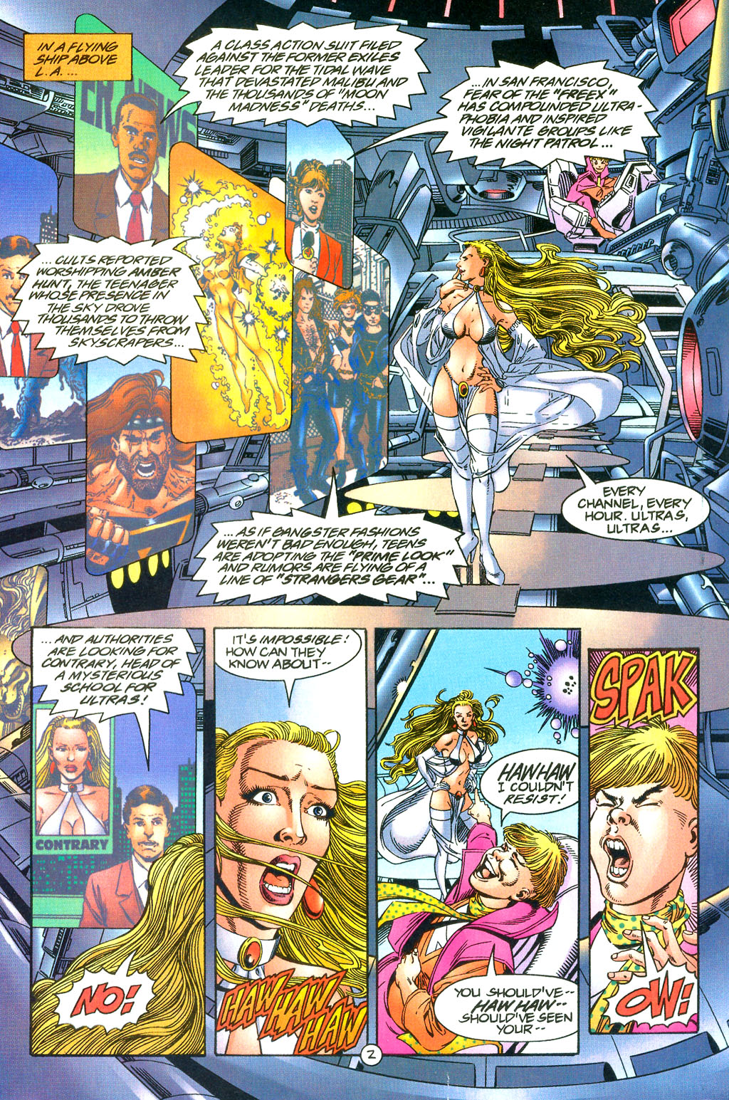 Read online UltraForce (1994) comic -  Issue #0 - 17