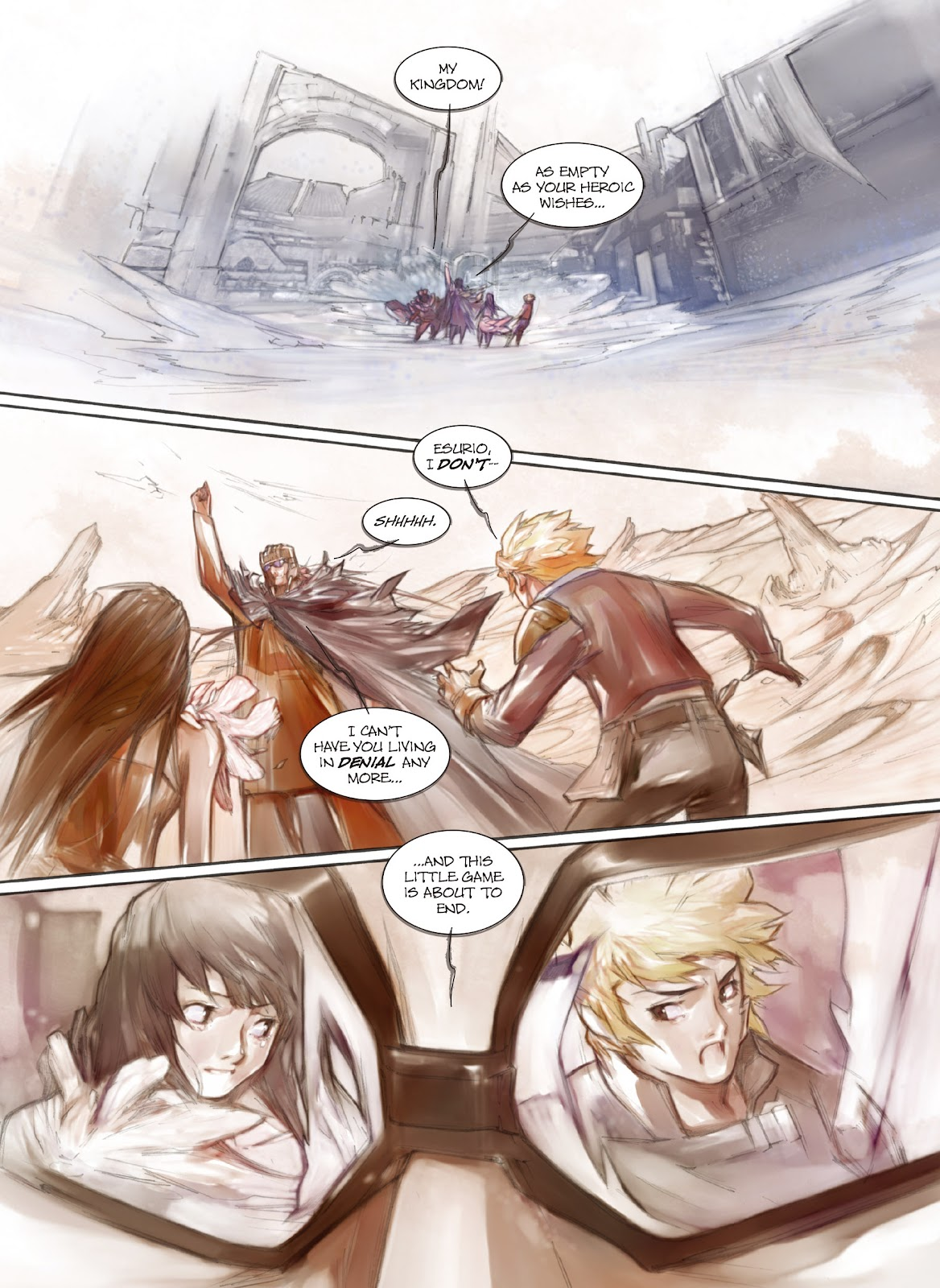 Read online Makeshift Miracle: The Girl From Nowhere comic -  Issue #11 - 15