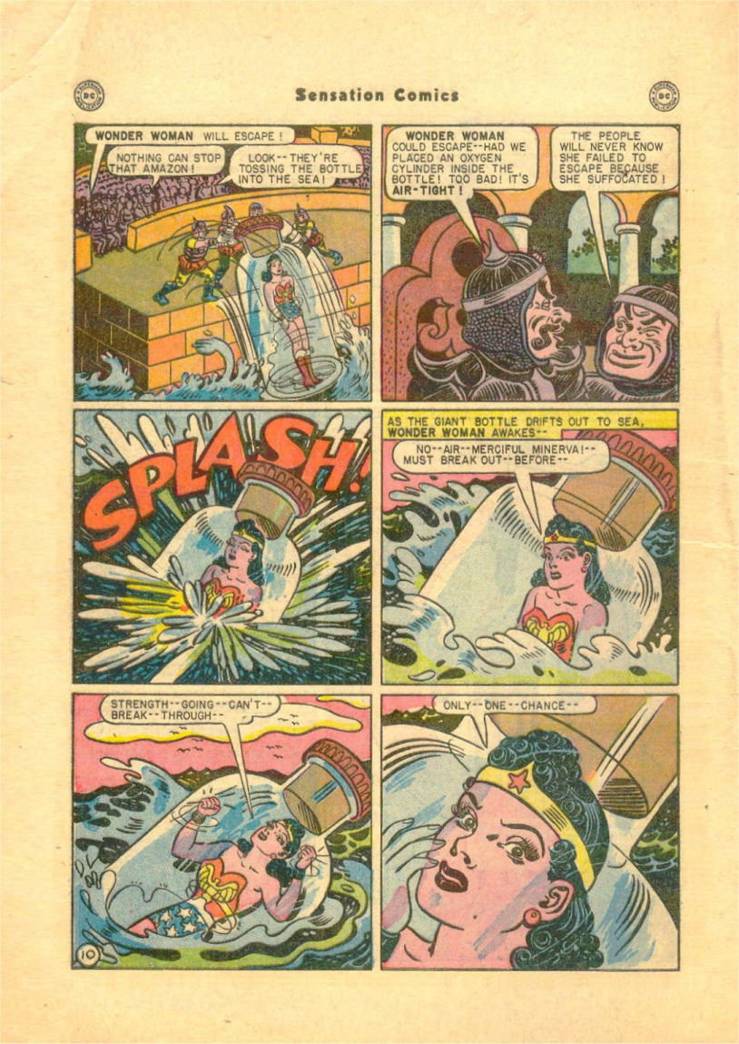 Read online Sensation (Mystery) Comics comic -  Issue #84 - 12