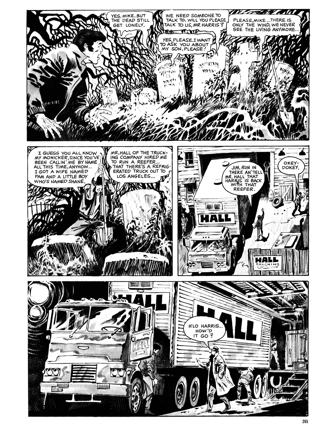 Read online Eerie Archives comic -  Issue # TPB 8 - 266