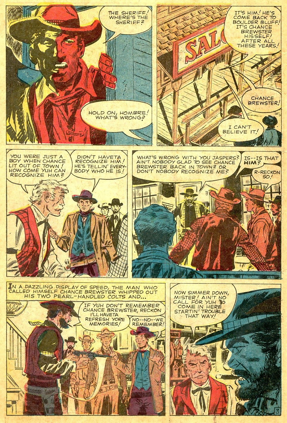 Gunsmoke Western issue 63 - Page 22