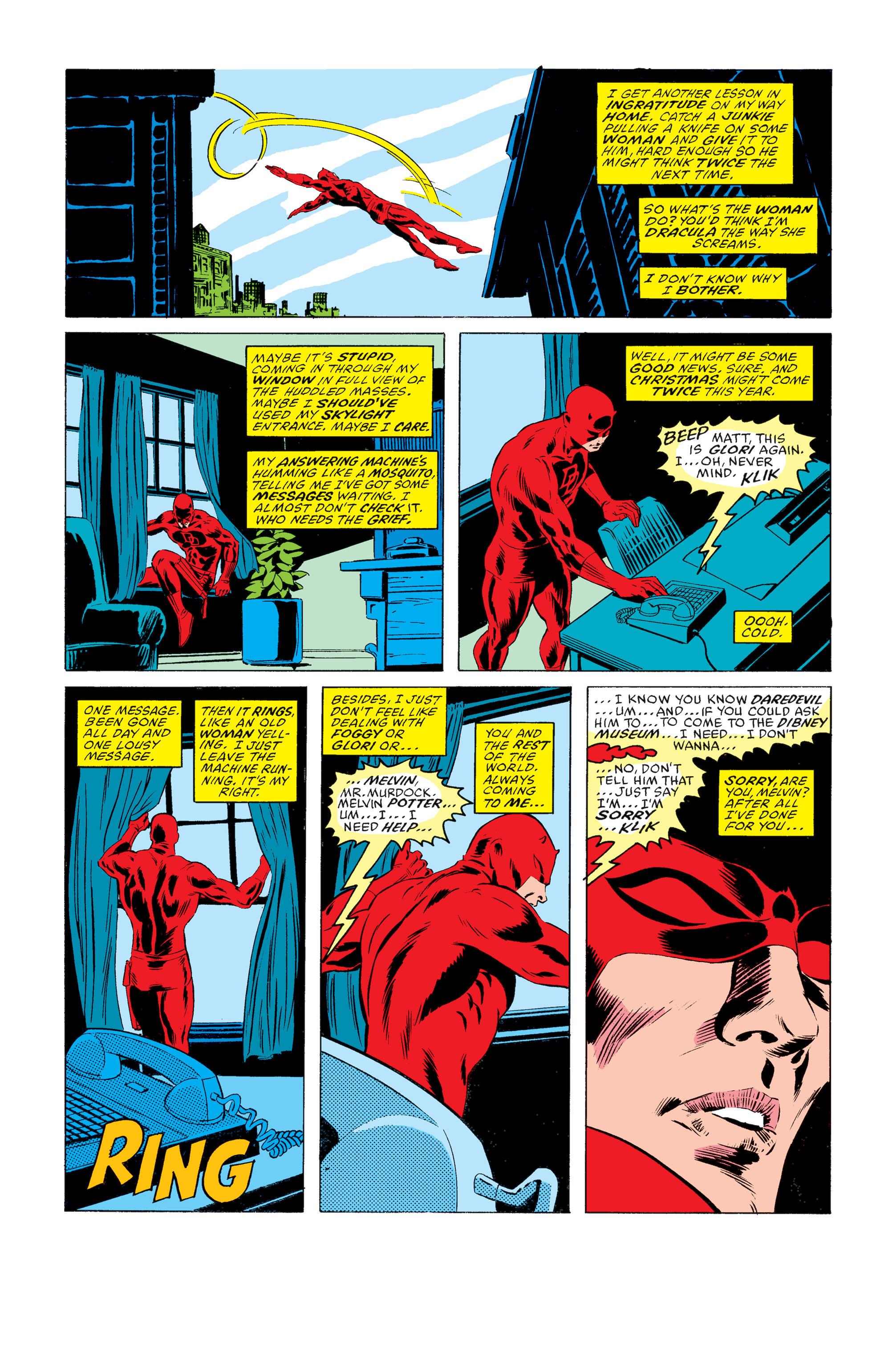 Read online Daredevil: Born Again comic -  Issue # Full - 18