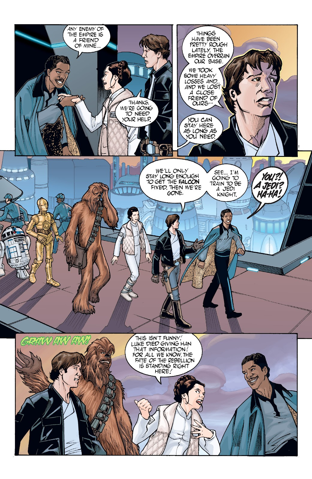 Read online Star Wars Legends: Infinities - Epic Collection comic -  Issue # TPB (Part 2) - 21