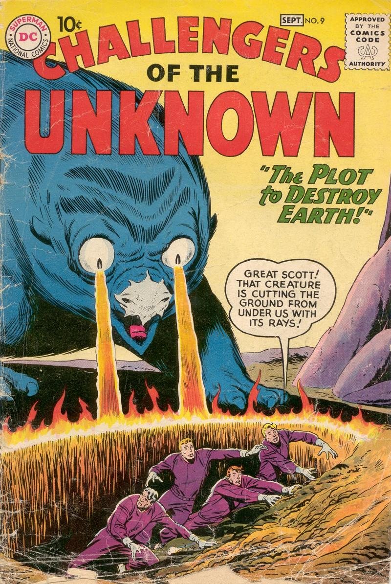 Challengers of the Unknown (1958) 9 Page 1