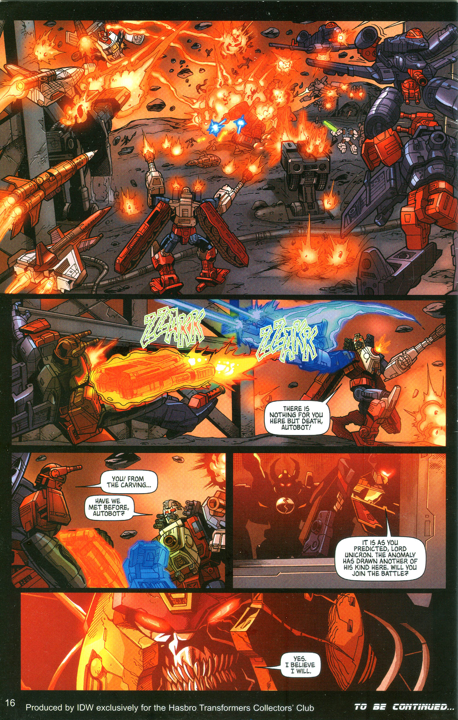 Read online Transformers: Collectors' Club comic -  Issue #10 - 16