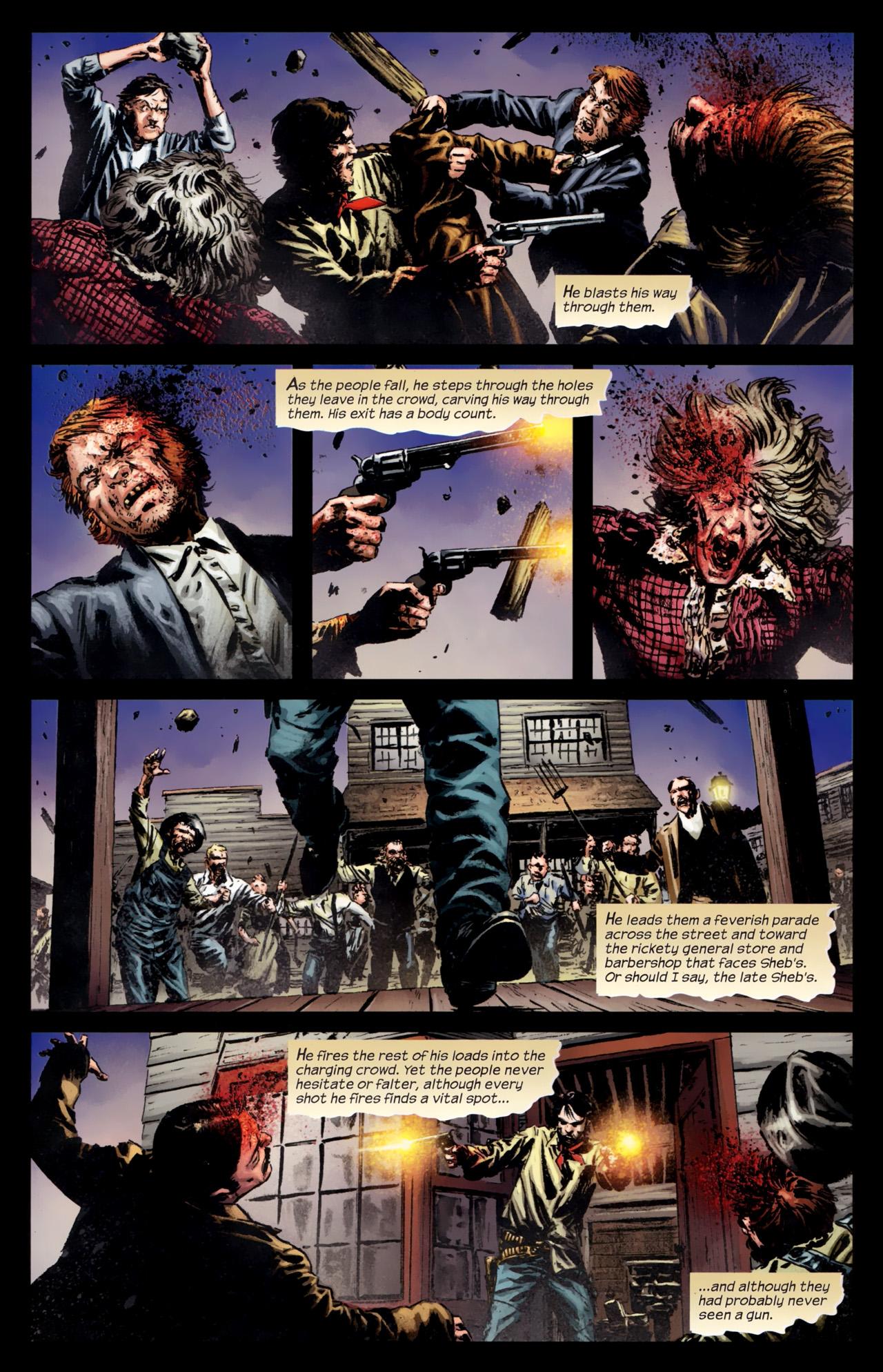 Read online Dark Tower: The Gunslinger - The Battle of Tull comic -  Issue #5 - 8
