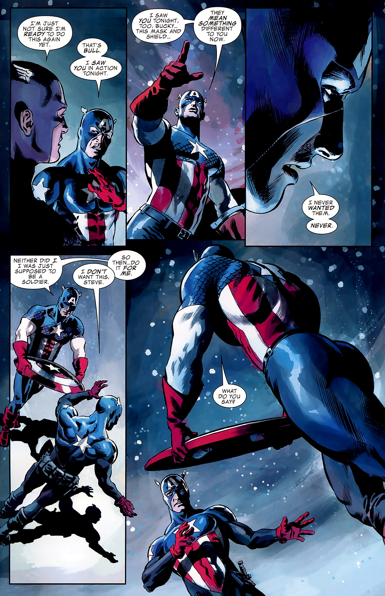 Read online Captain America Reborn: Who Will Wield the Shield? comic -  Issue # Full - 23