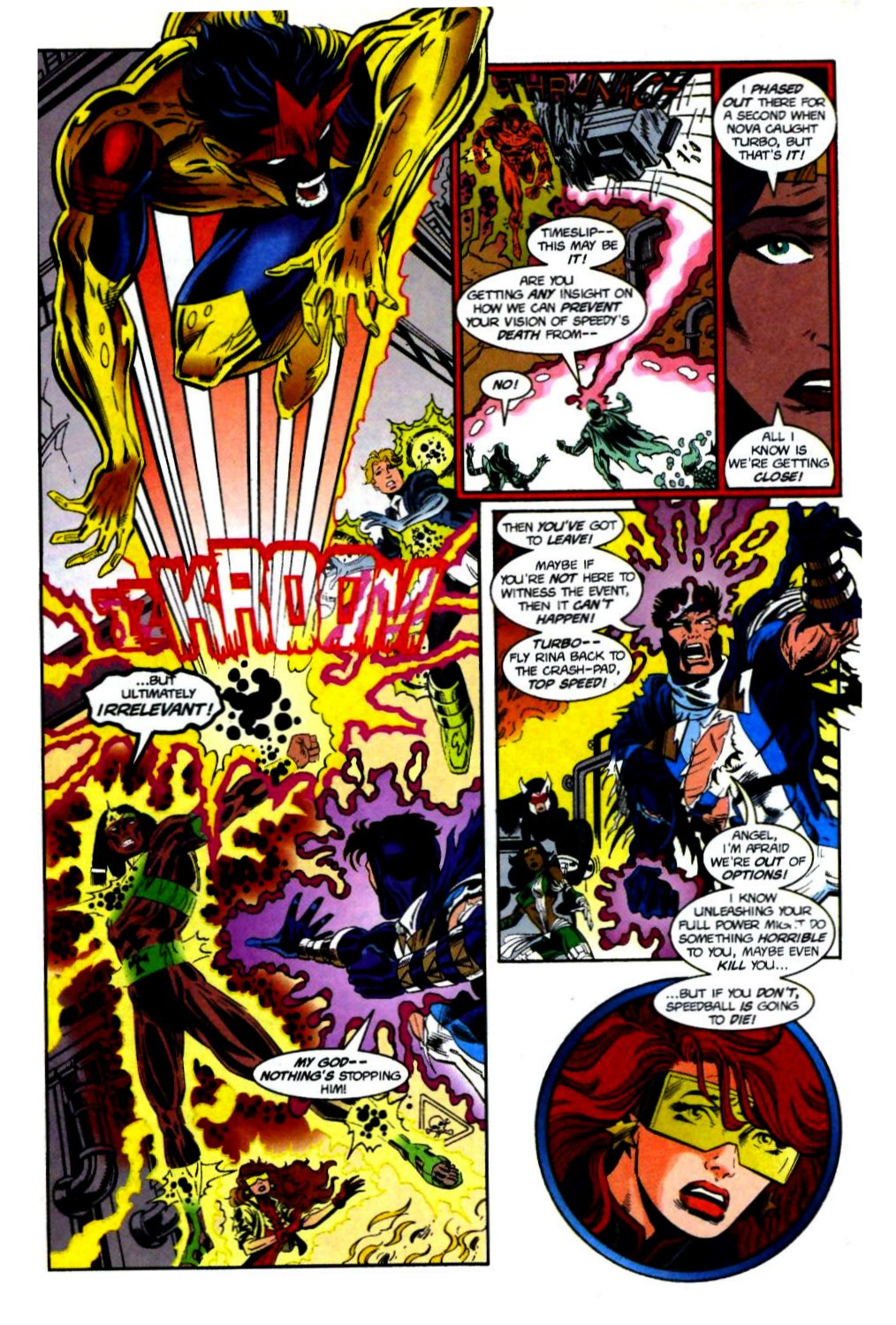 The New Warriors Issue #69 #73 - English 14