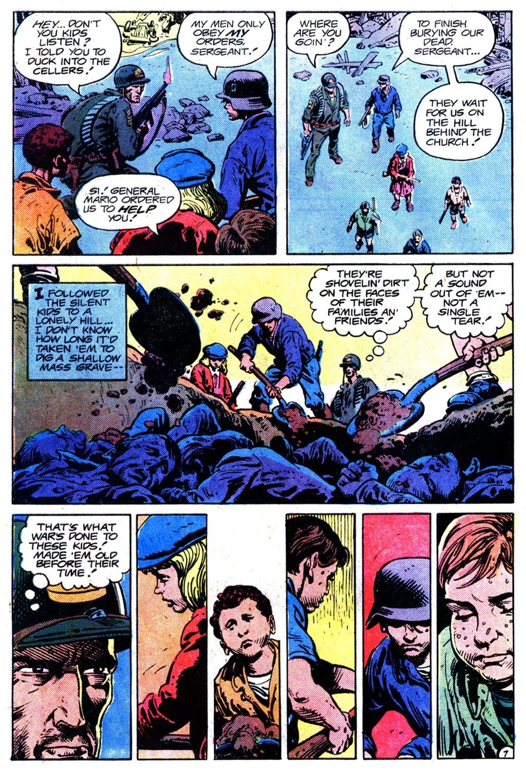 Read online Sgt. Rock comic -  Issue #358 - 7