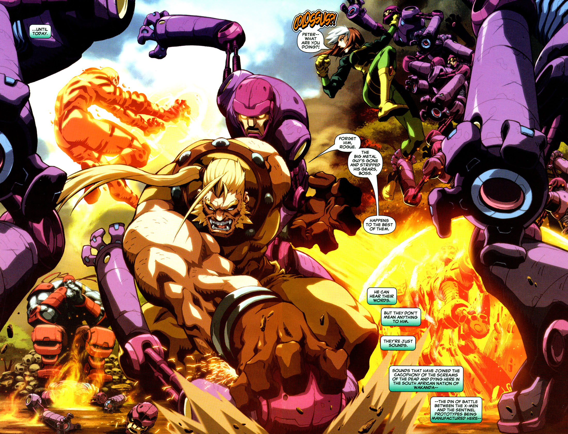 Read online X-Men: Age of Apocalypse One-Shot comic -  Issue # Full - 4