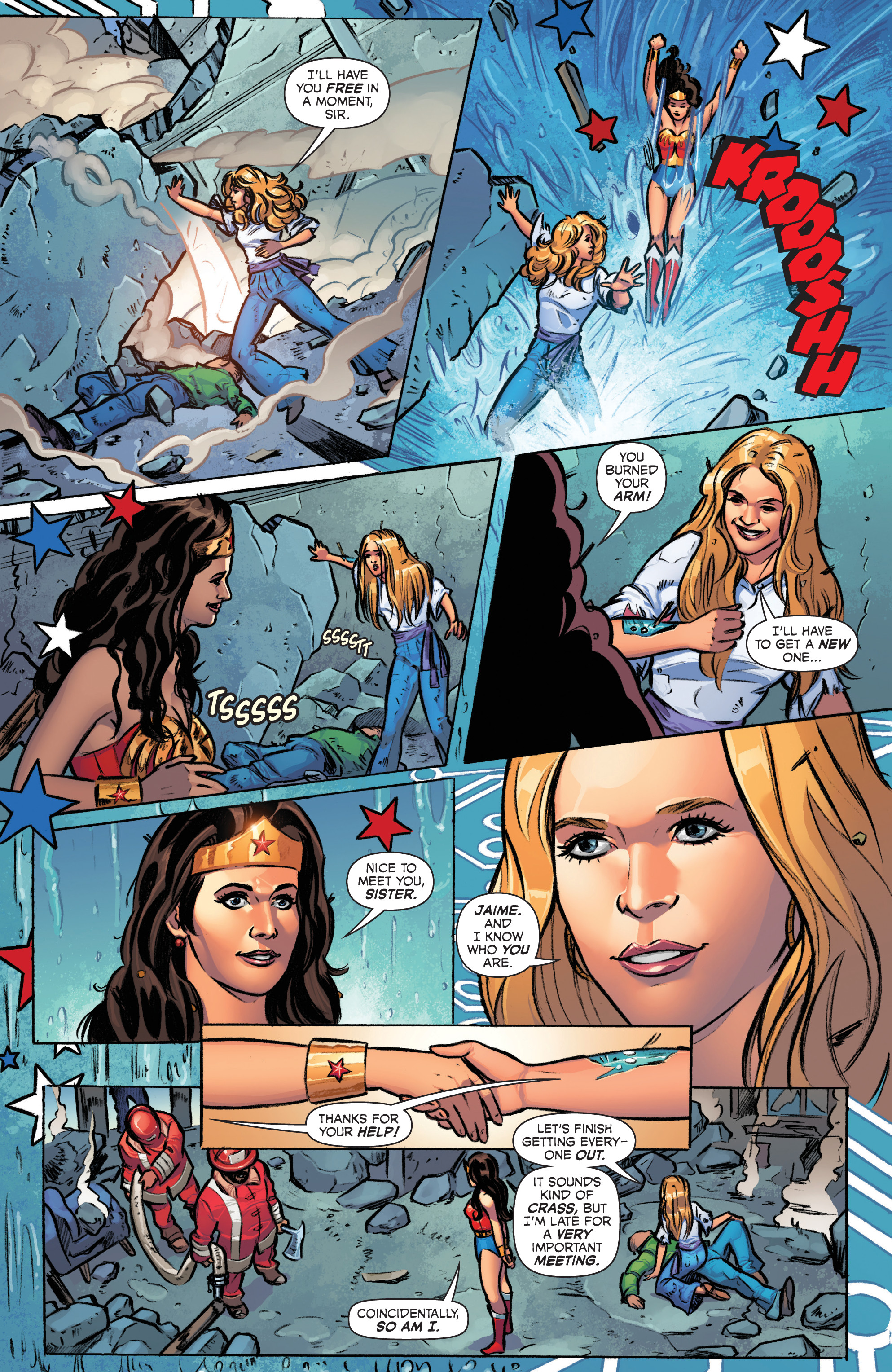 Read online Wonder Woman '77 Meets The Bionic Woman comic -  Issue #1 - 9