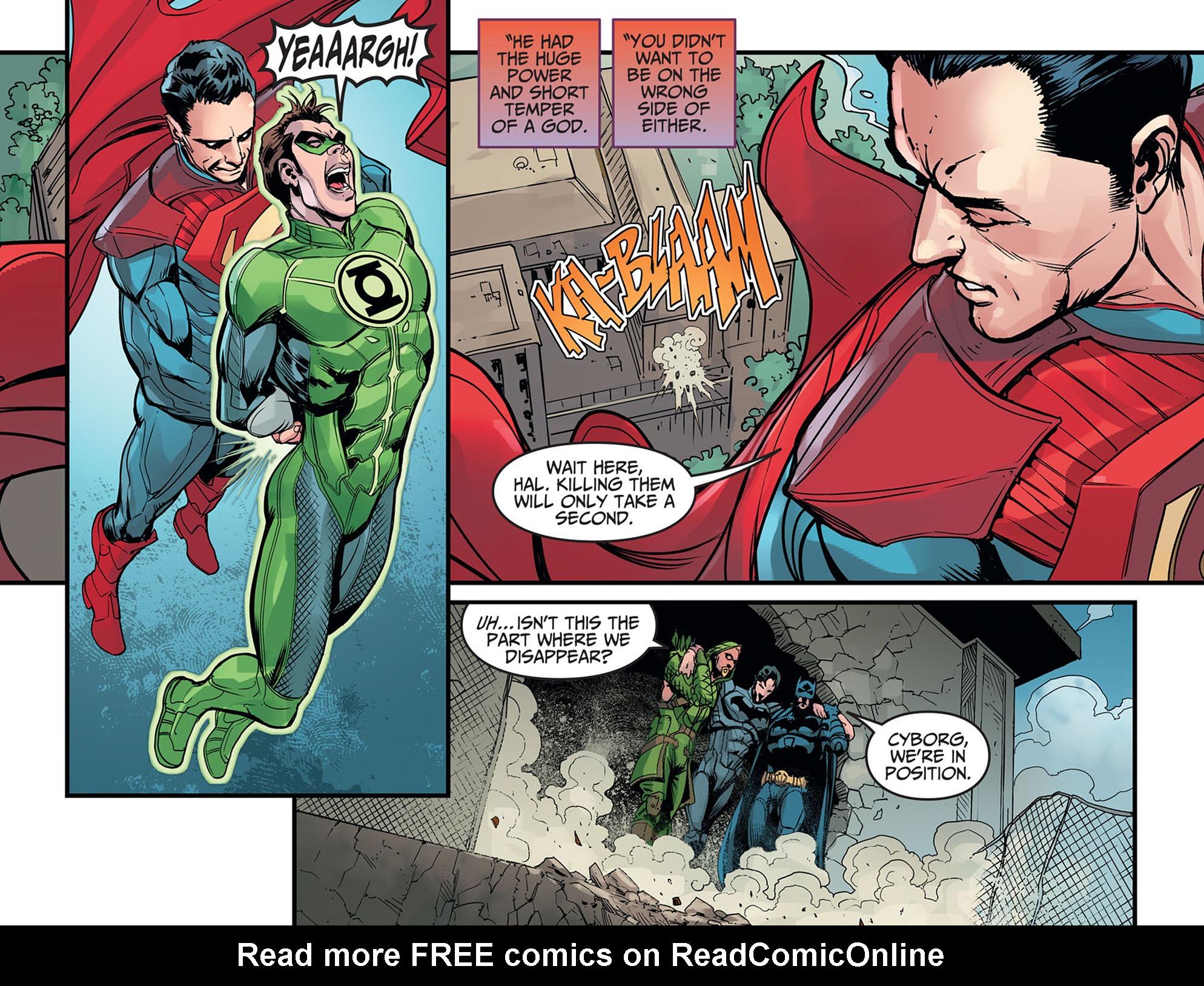 Read online Injustice: Ground Zero comic -  Issue #16 - 20