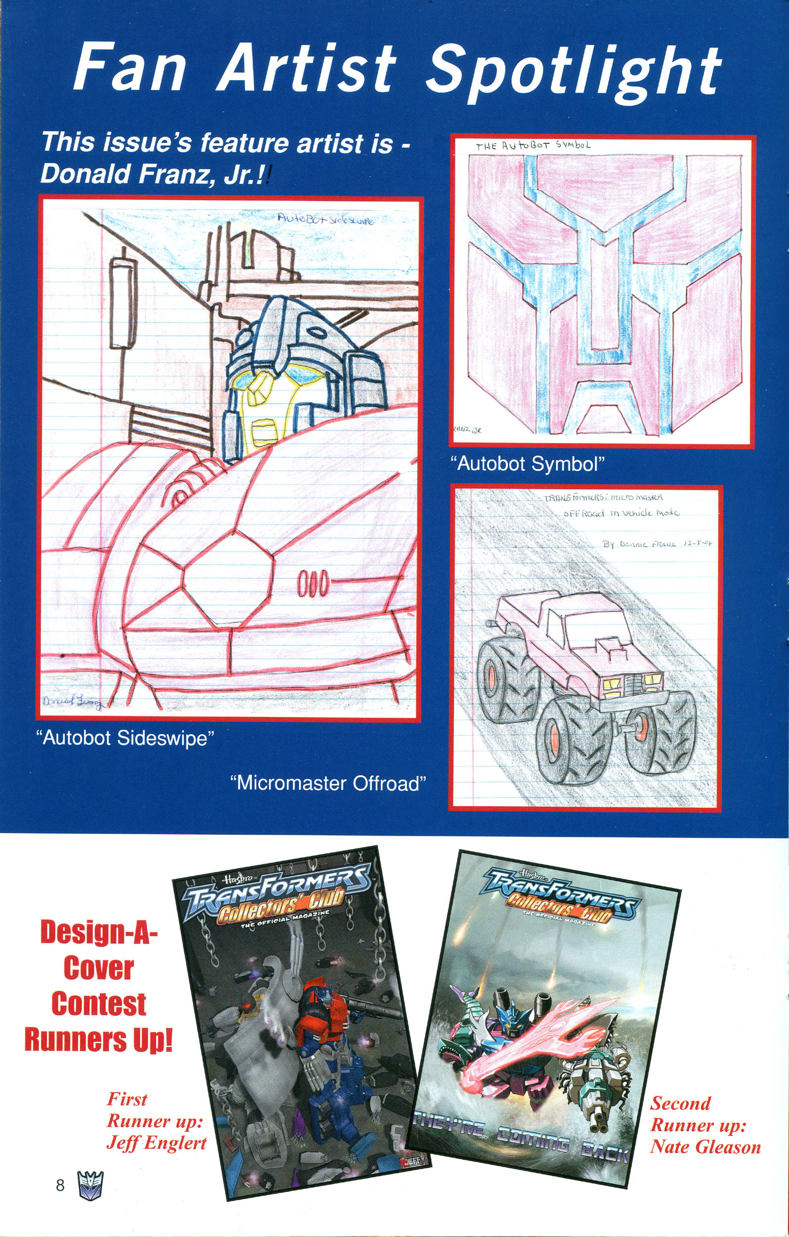 Read online Transformers: Collectors' Club comic -  Issue #21 - 8