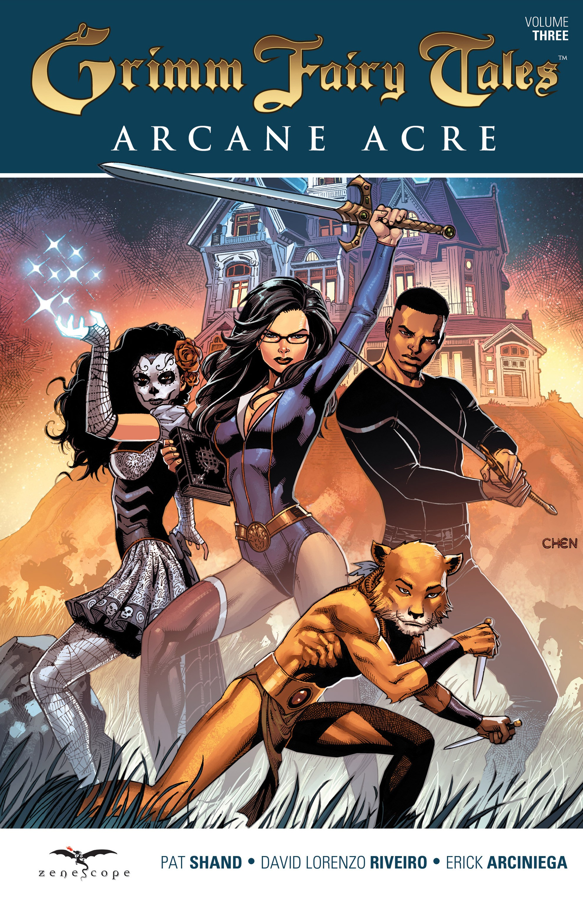 Read online Grimm Fairy Tales: Arcane Acre comic -  Issue # TPB 3 - 1