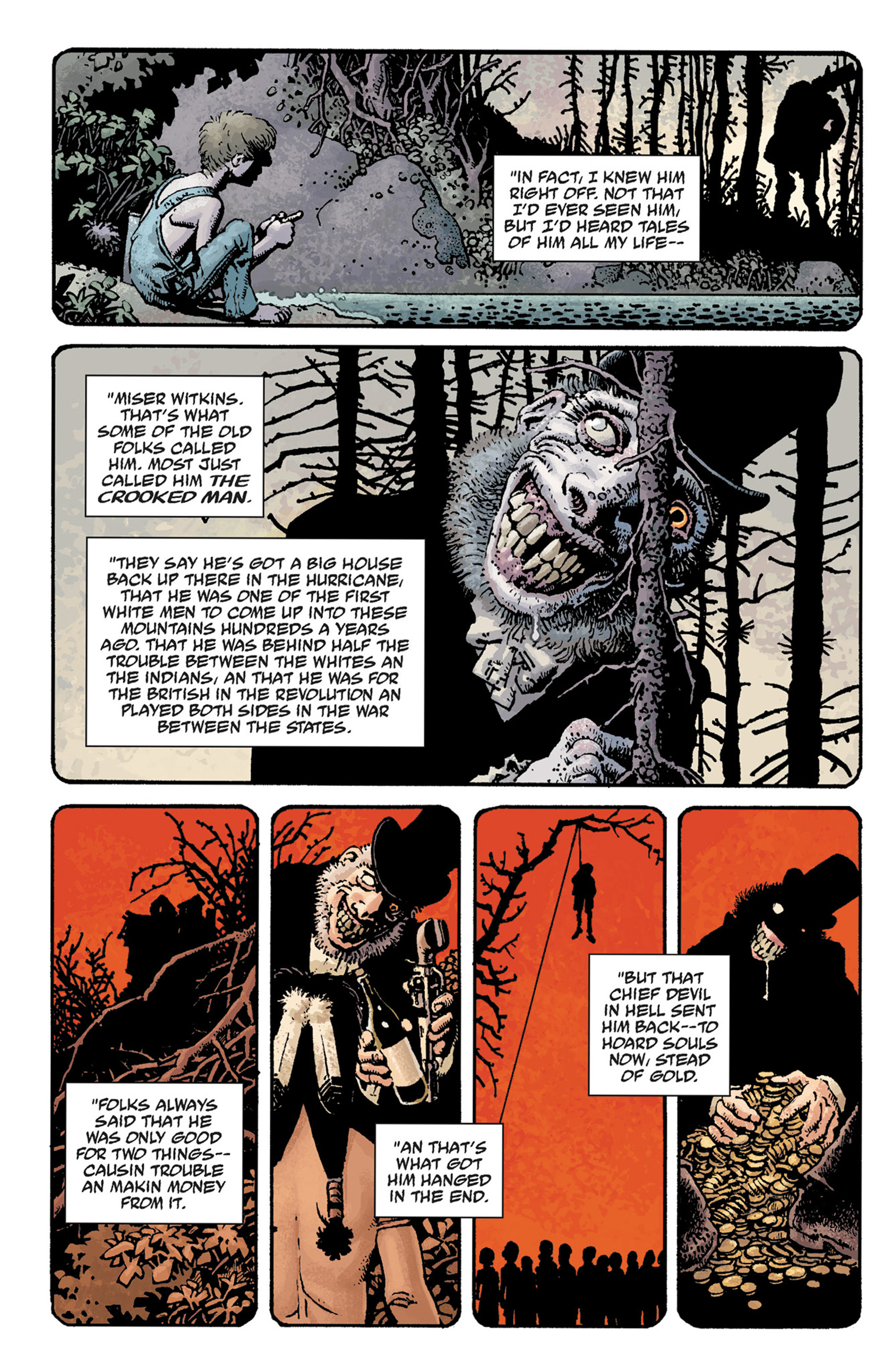 Read online Hellboy: The Crooked Man and Others comic -  Issue # TPB - 22